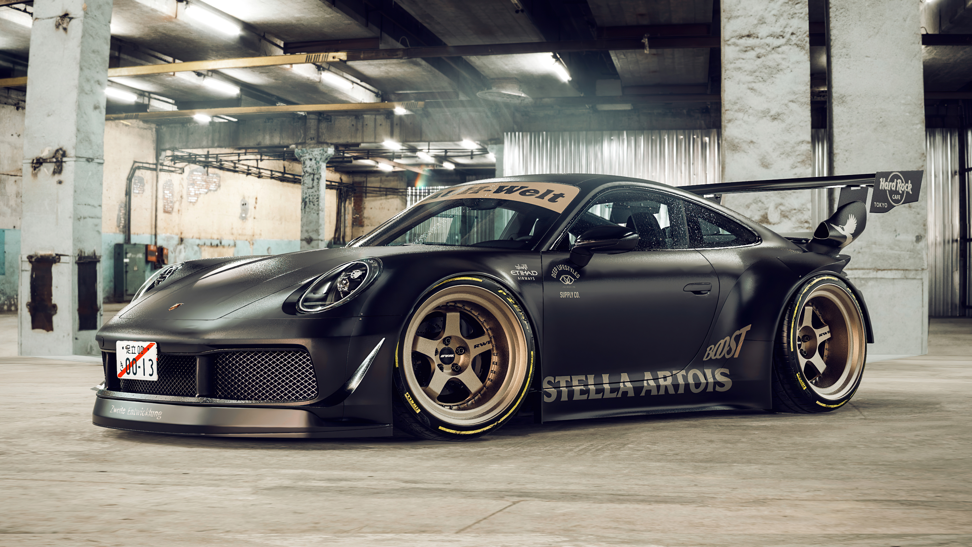 porsche golden rims 4k 1614626943 - Porsche Golden Rims 4k - Porsche Golden Rims 4k wallpapers
