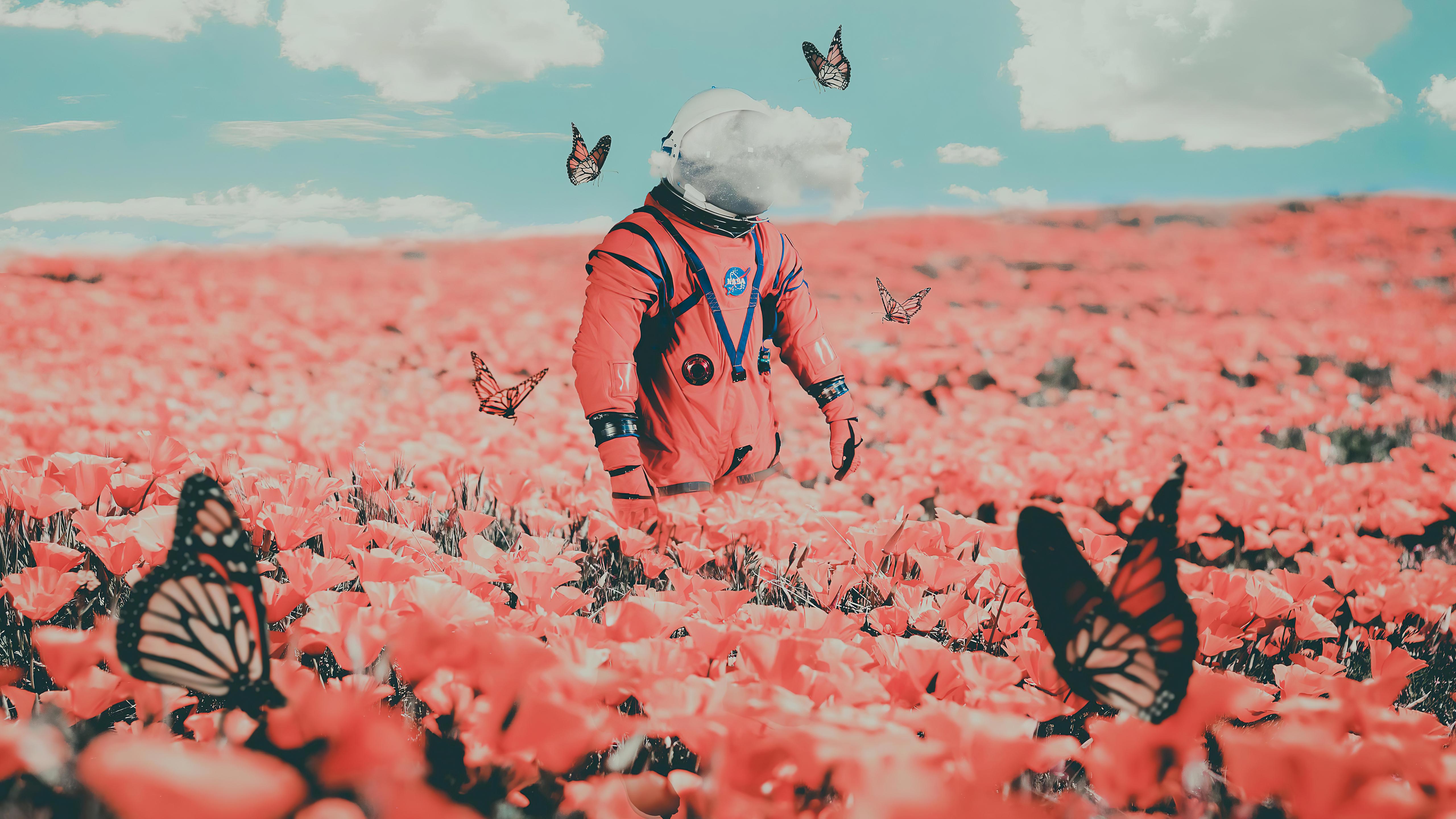 astronaut in butterflies 4k 1618133461 - Astronaut In Butterflies 4k - Astronaut In Butterflies 4k wallpapers