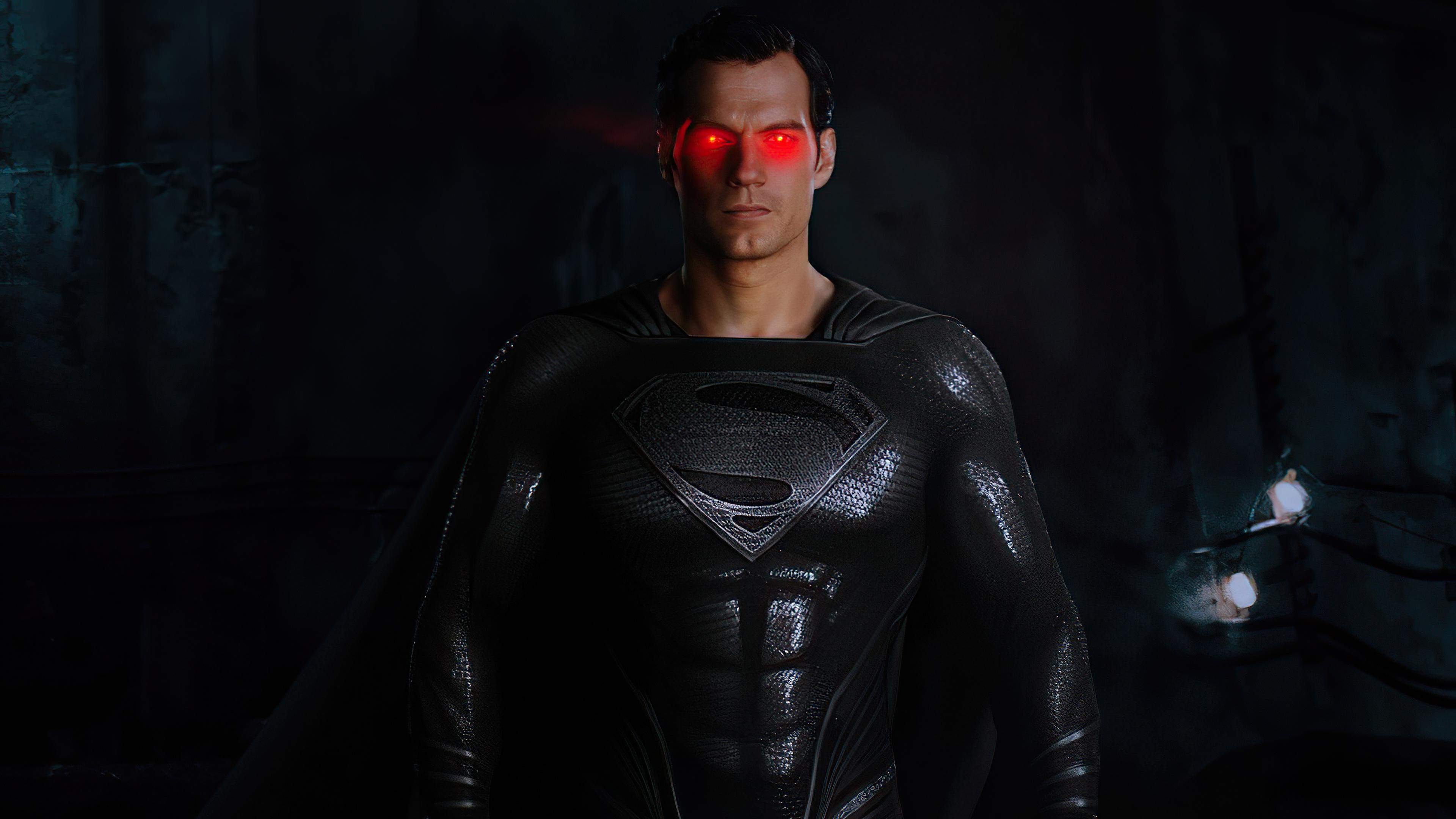black suit superman red glowing eyes 4k 1618165476 - Black Suit Superman Red Glowing Eyes 4k - Black Suit Superman Red Glowing Eyes 4k wallpapers