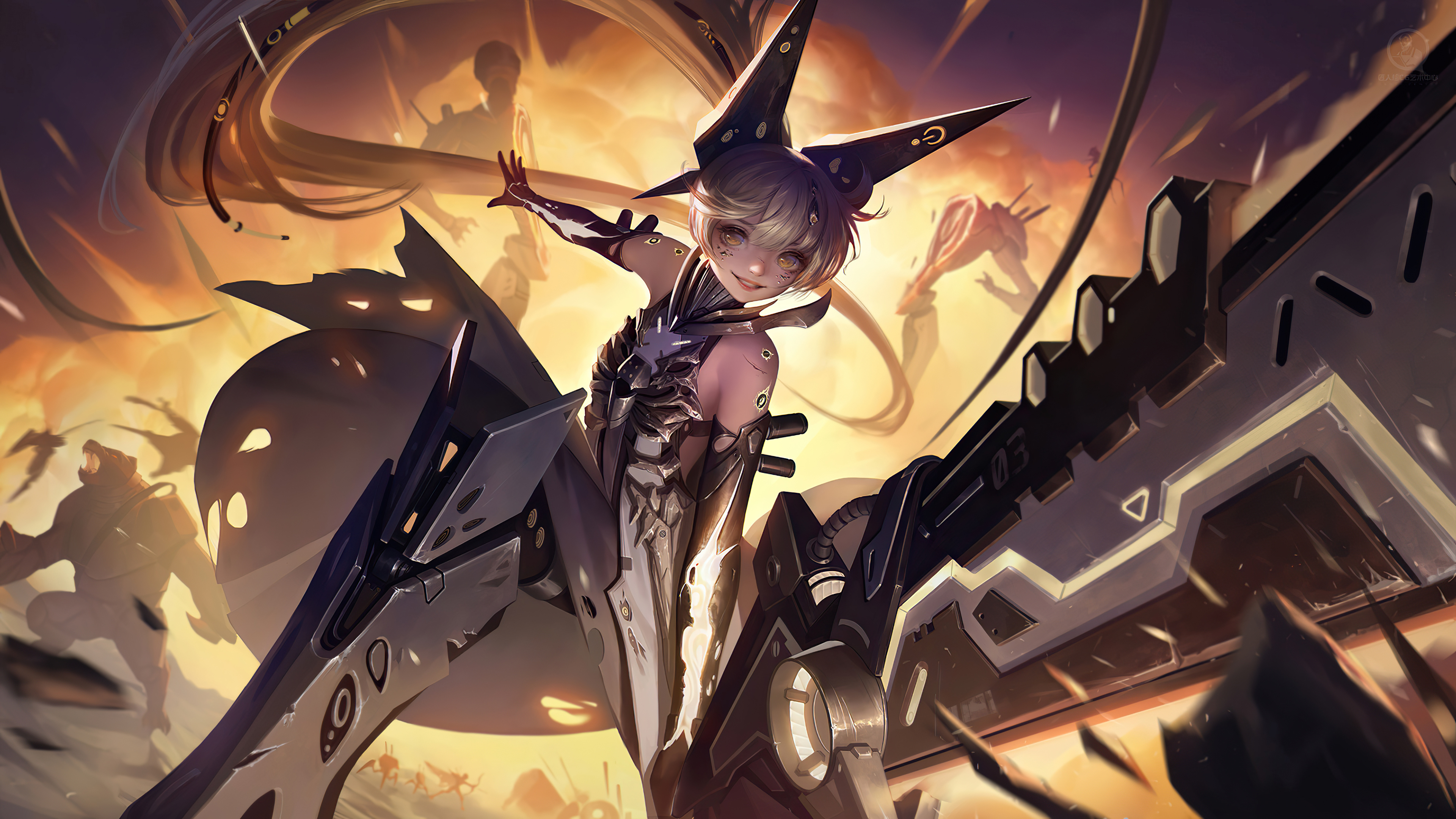 blade girl scifi 4k 1618128215 - Blade Girl Scifi 4k - Blade Girl Scifi 4k wallpapers