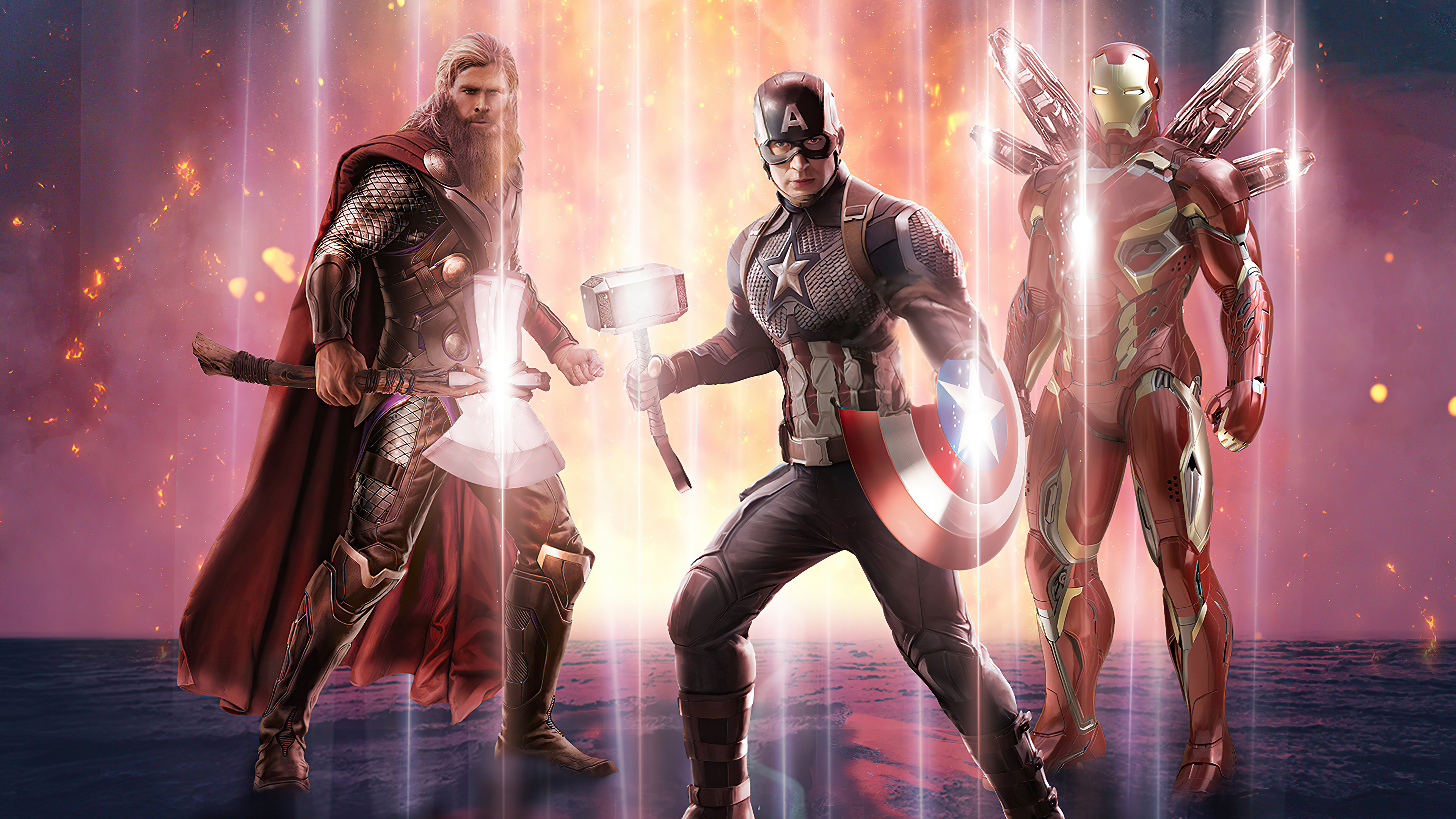 captain america thor iron man avengers end game 4k 1619215238 - Captain America Thor Iron Man Avengers End Game 4k - Captain America Thor Iron Man Avengers End Game 4k wallpapers