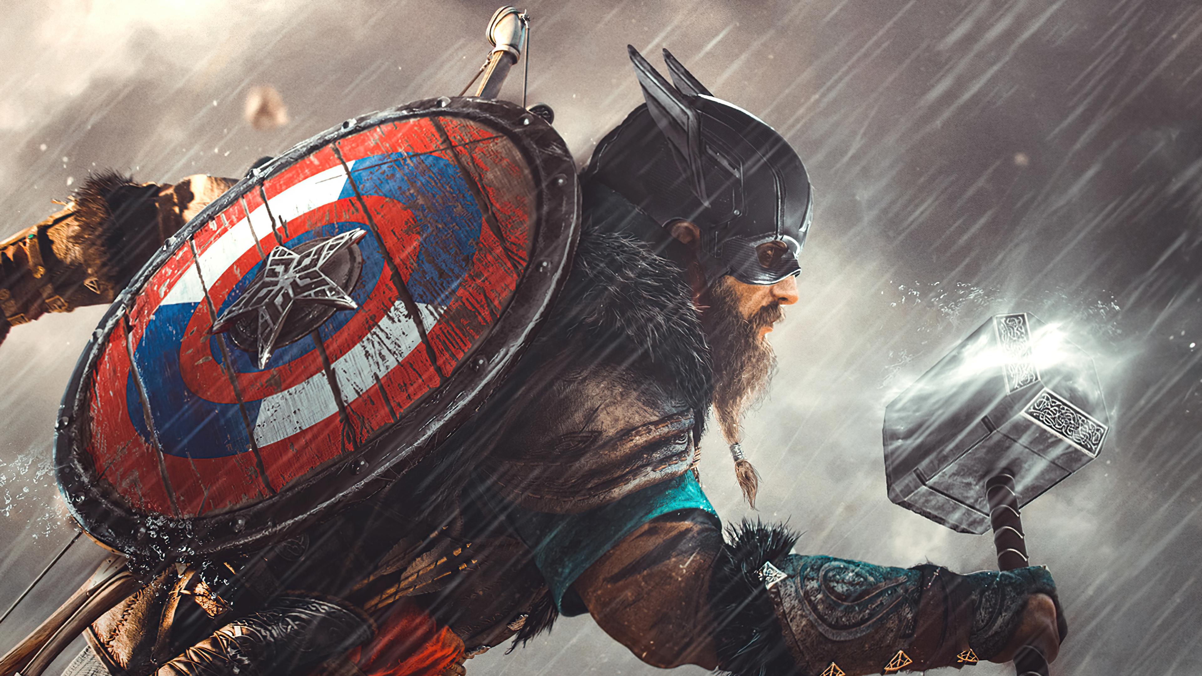 captain america valhalla 4k 1619216532 - Captain America Valhalla 4k - Captain America Valhalla 4k wallpapers