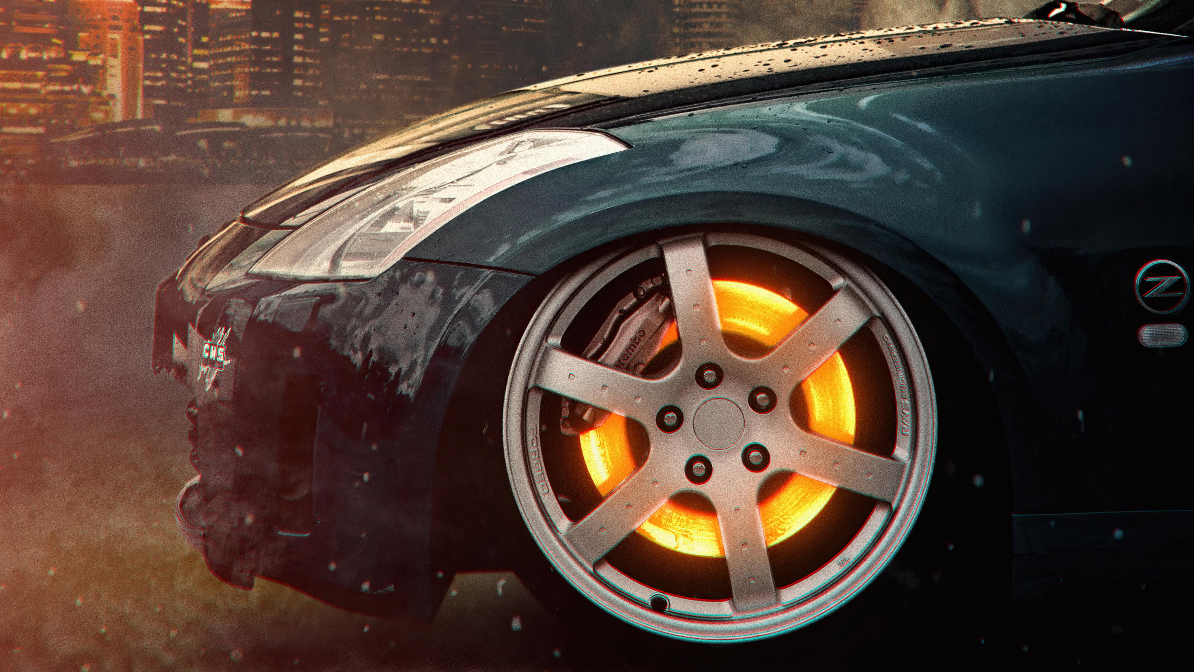 car glowing wheel disc 4k 1618920194 - Car Glowing Wheel Disc 4k - Car Glowing Wheel Disc 4k wallpapers