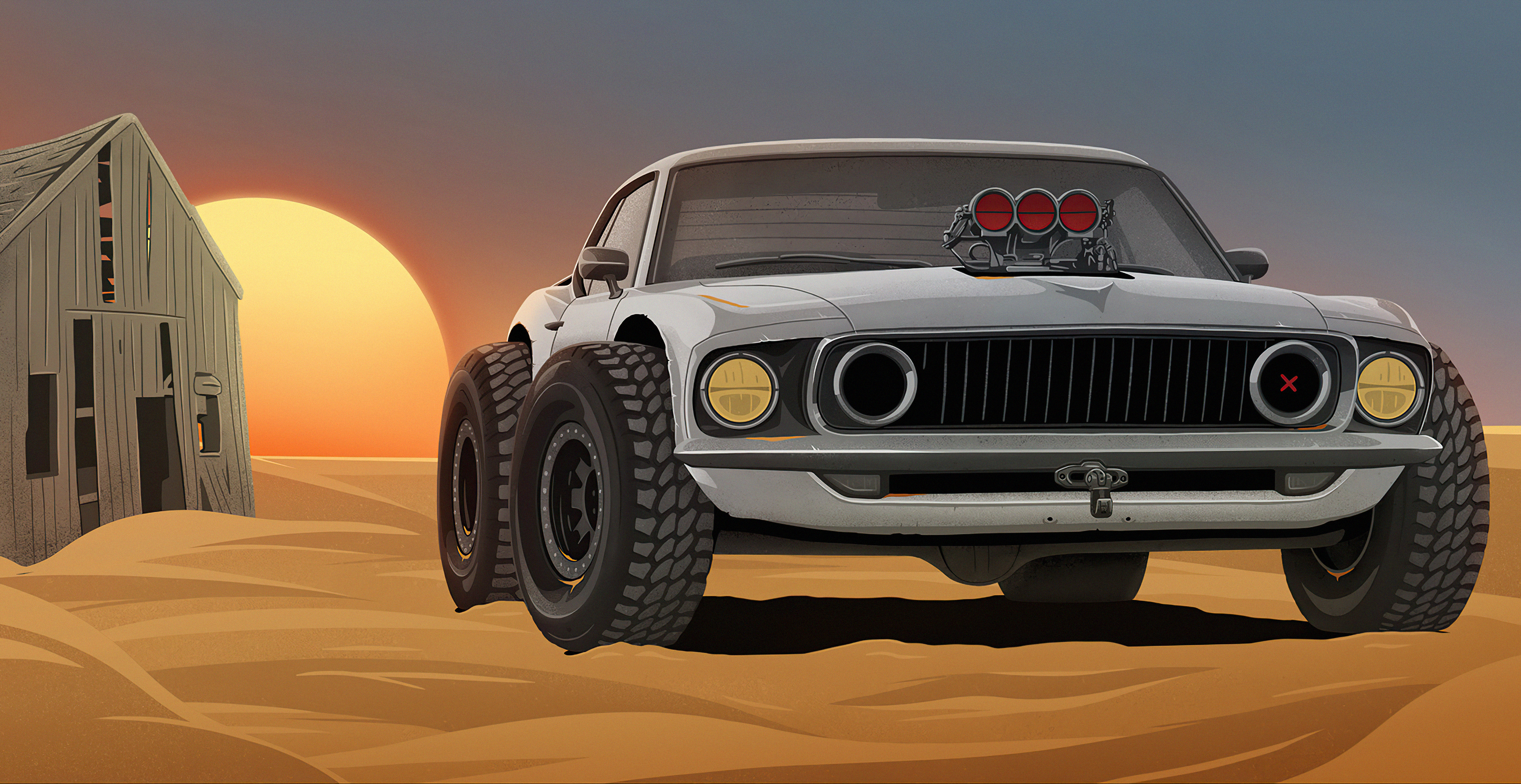 classic car in desert 4k 1618130520 - Classic Car In Desert 4k - Classic Car In Desert 4k wallpapers