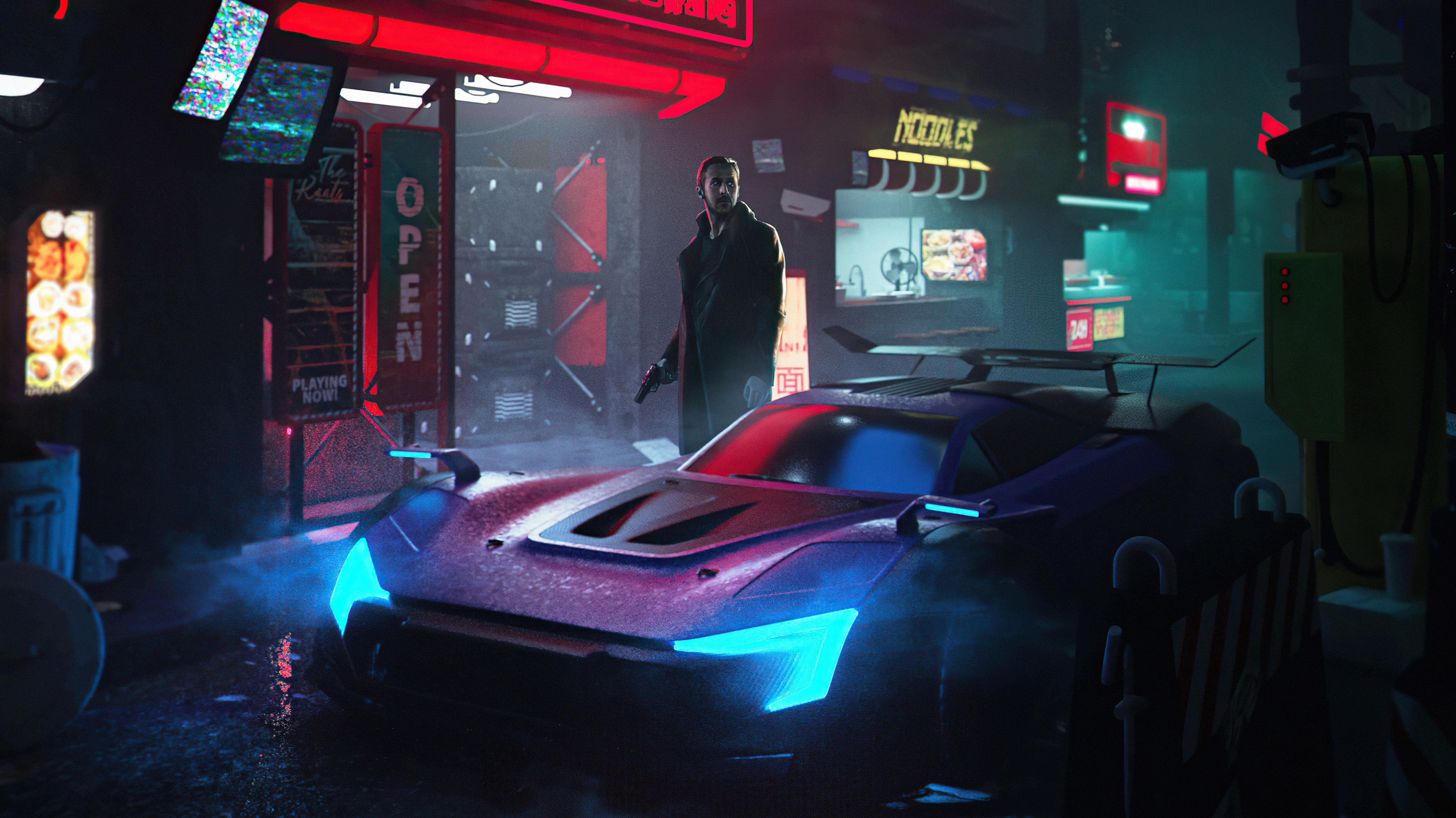 cyber city blade runner 4k 1618165824 - Cyber City Blade Runner 4k - Cyber City Blade Runner 4k wallpapers