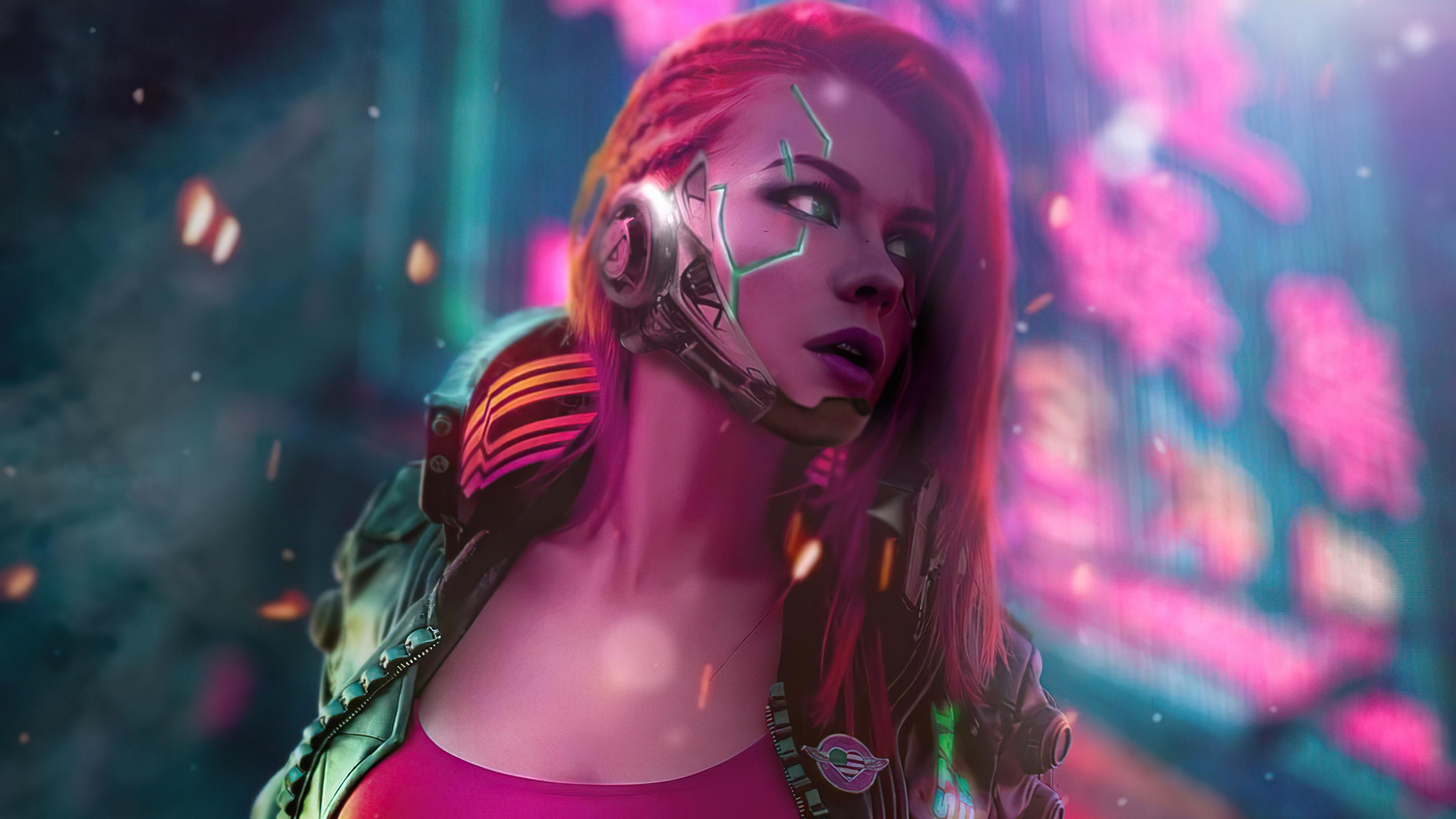 cyberpunk scifi girl 4k 1618133345 - Cyberpunk Scifi Girl 4k - Cyberpunk Scifi Girl 4k wallpapers