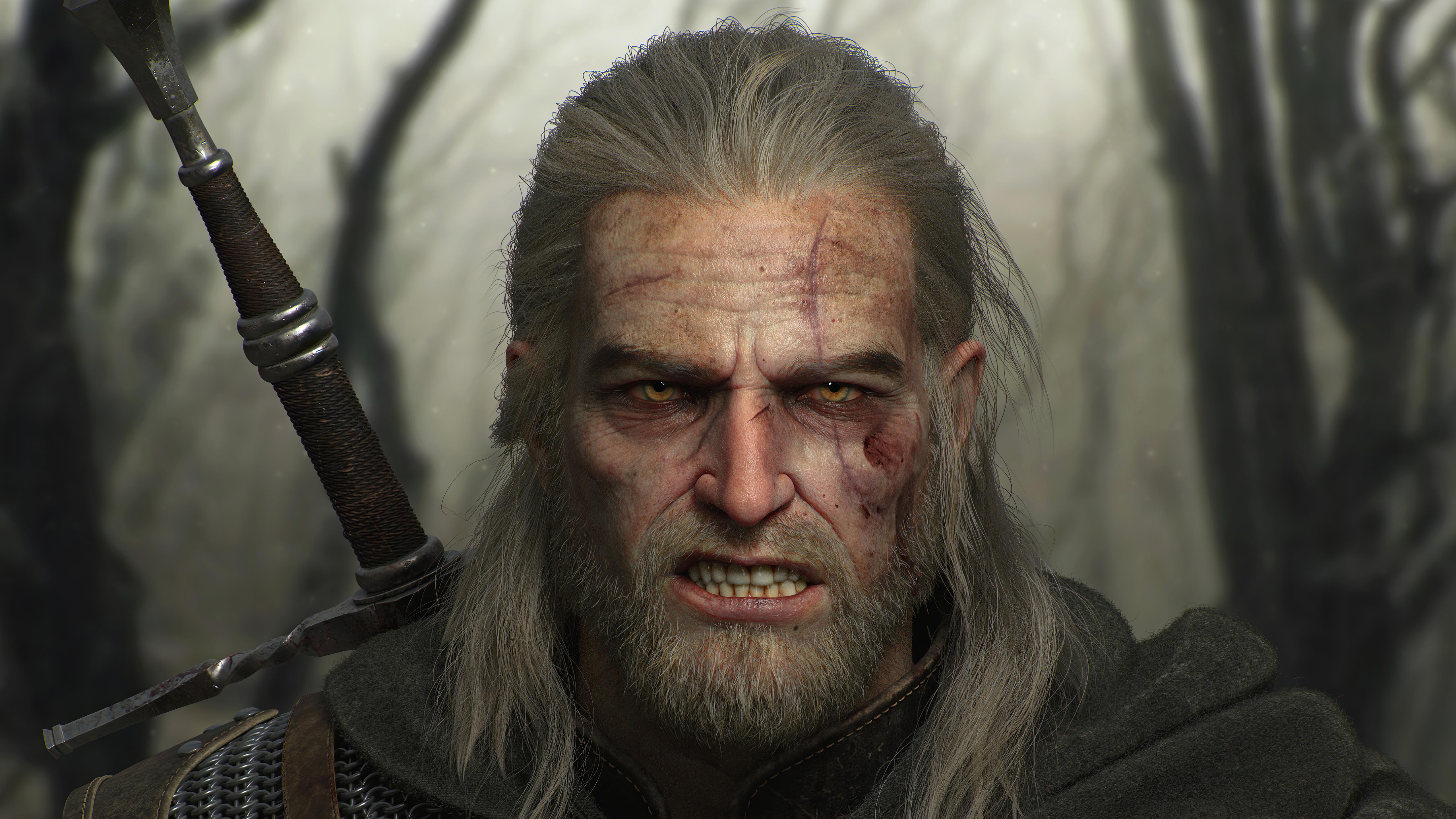 geralt of rivia the witcher 3 wild hunt 4k 1618136612 - Geralt Of Rivia The Witcher 3 Wild Hunt 4k - Geralt Of Rivia The Witcher 3 Wild Hunt 4k wallpapers