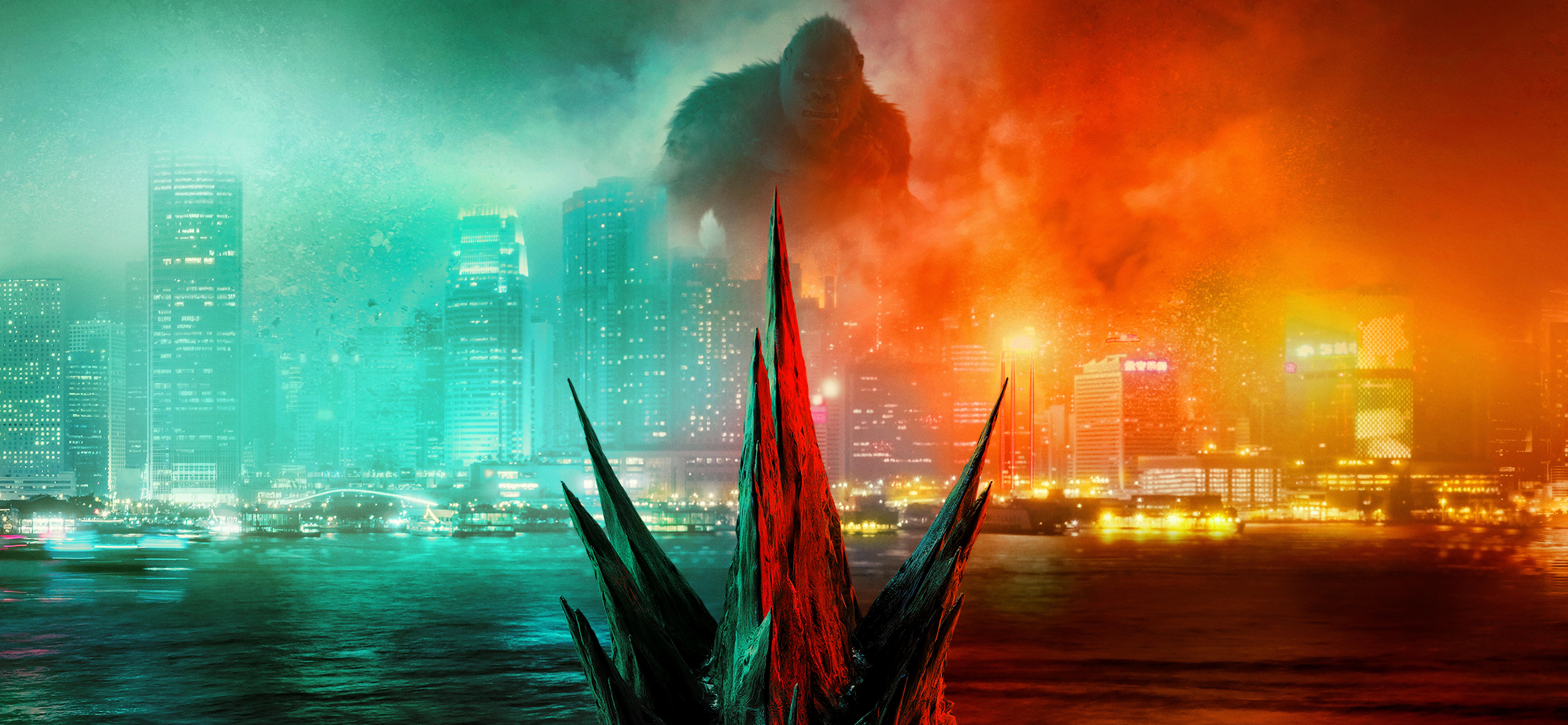 godzilla vs kong 4k 1618165496 - Godzilla Vs Kong 4k - Godzilla Vs Kong 4k wallpapers