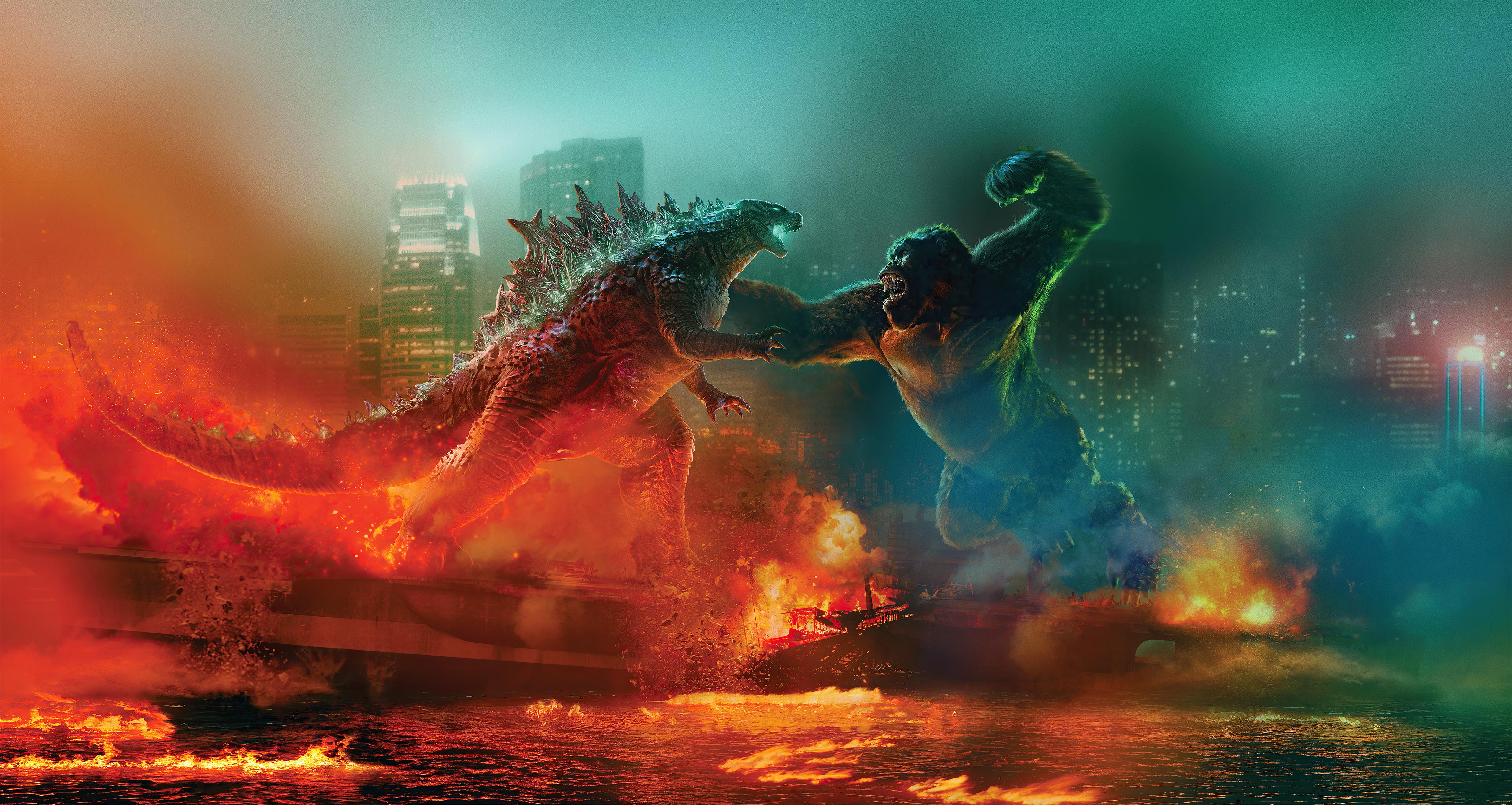 godzilla vs kong fight 4k 1618165968 - Godzilla Vs Kong Fight 4k - Godzilla Vs Kong Fight 4k wallpapers