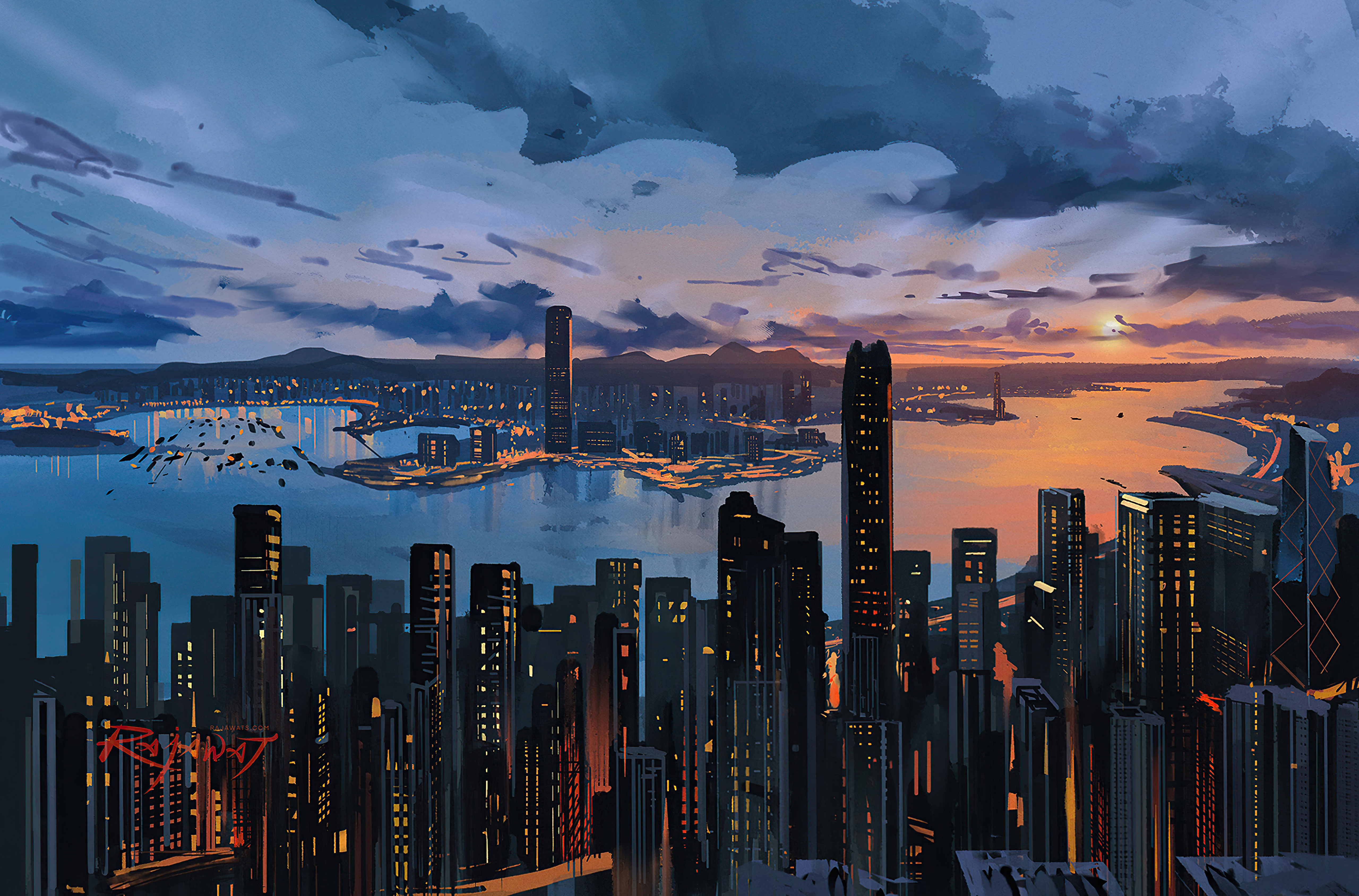 hong kong city pain art 4k 1618131998 - Hong Kong City Pain Art 4k - Hong Kong City Pain Art 4k wallpapers