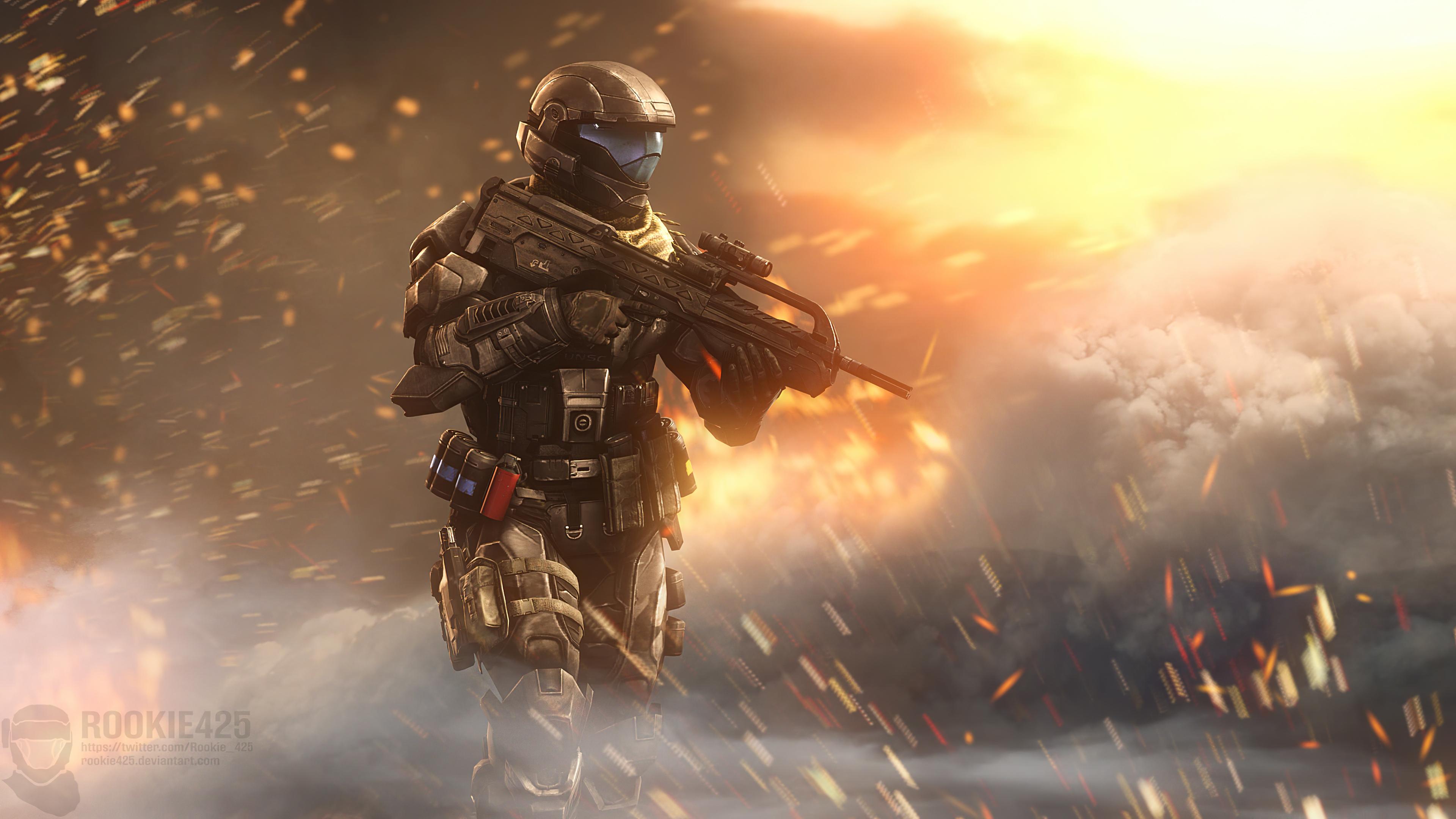incendiary halo 4k 1618136612 - Incendiary Halo 4k - Incendiary Halo 4k wallpapers