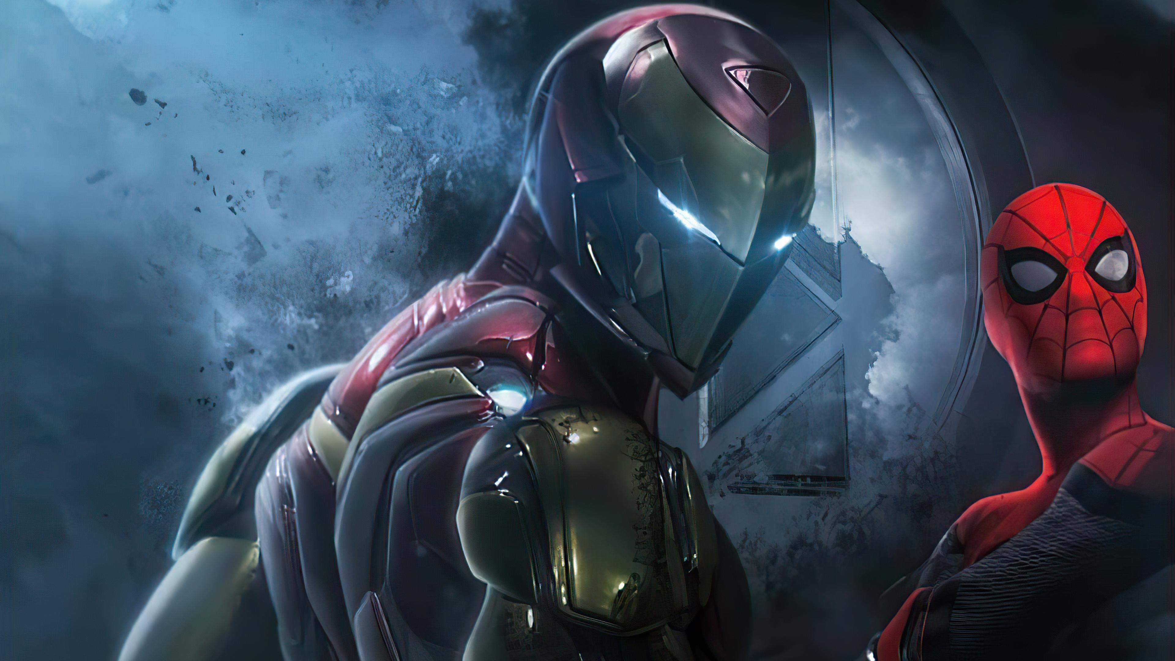 iron man and spider 4k 1619215238 - Iron Man And Spider 4k - Iron Man And Spider 4k wallpapers
