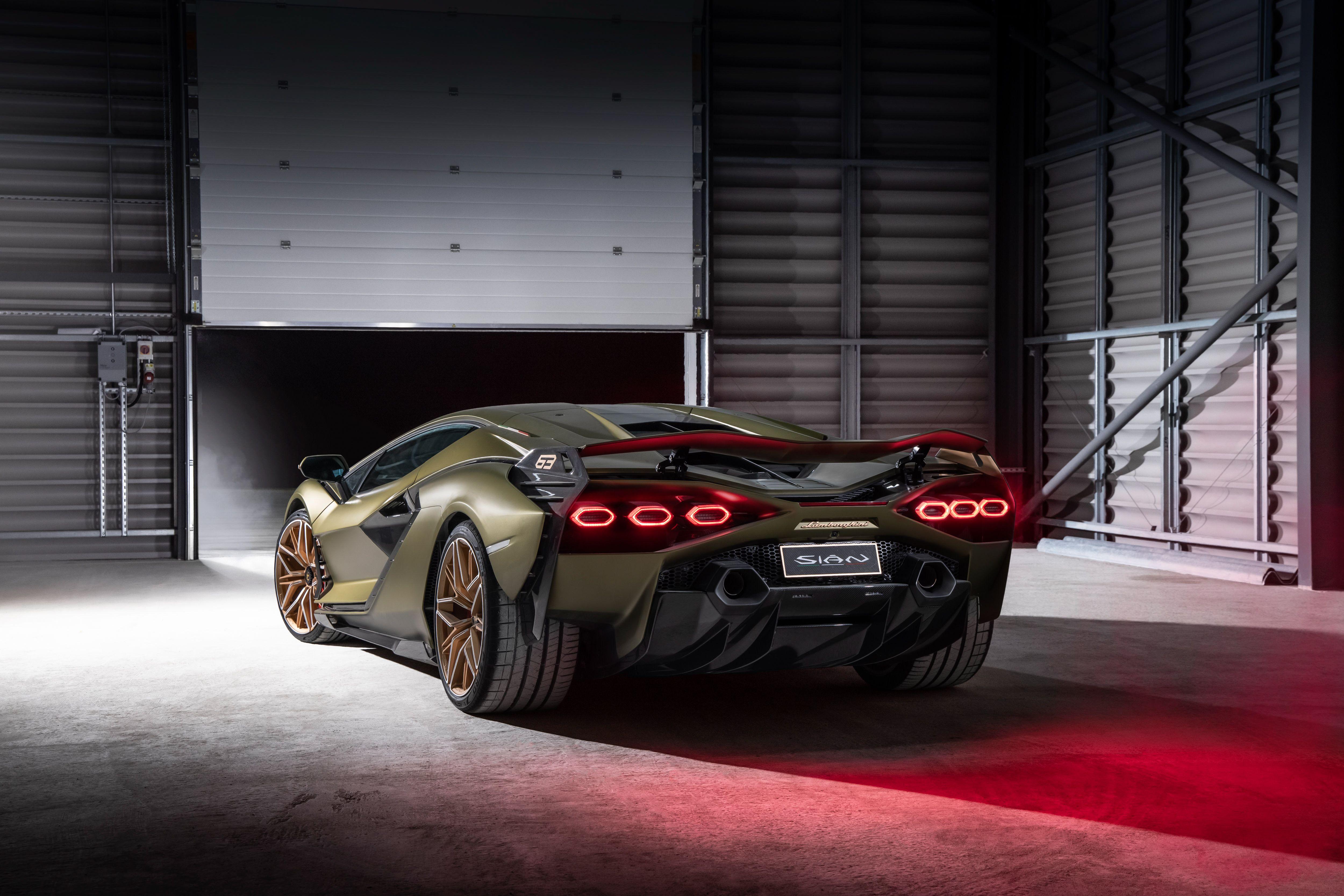 lamborghini sian 2021 rear 4k 1618920700 - Lamborghini Sian 2021 Rear 4k - Lamborghini Sian 2021 Rear 4k wallpapers