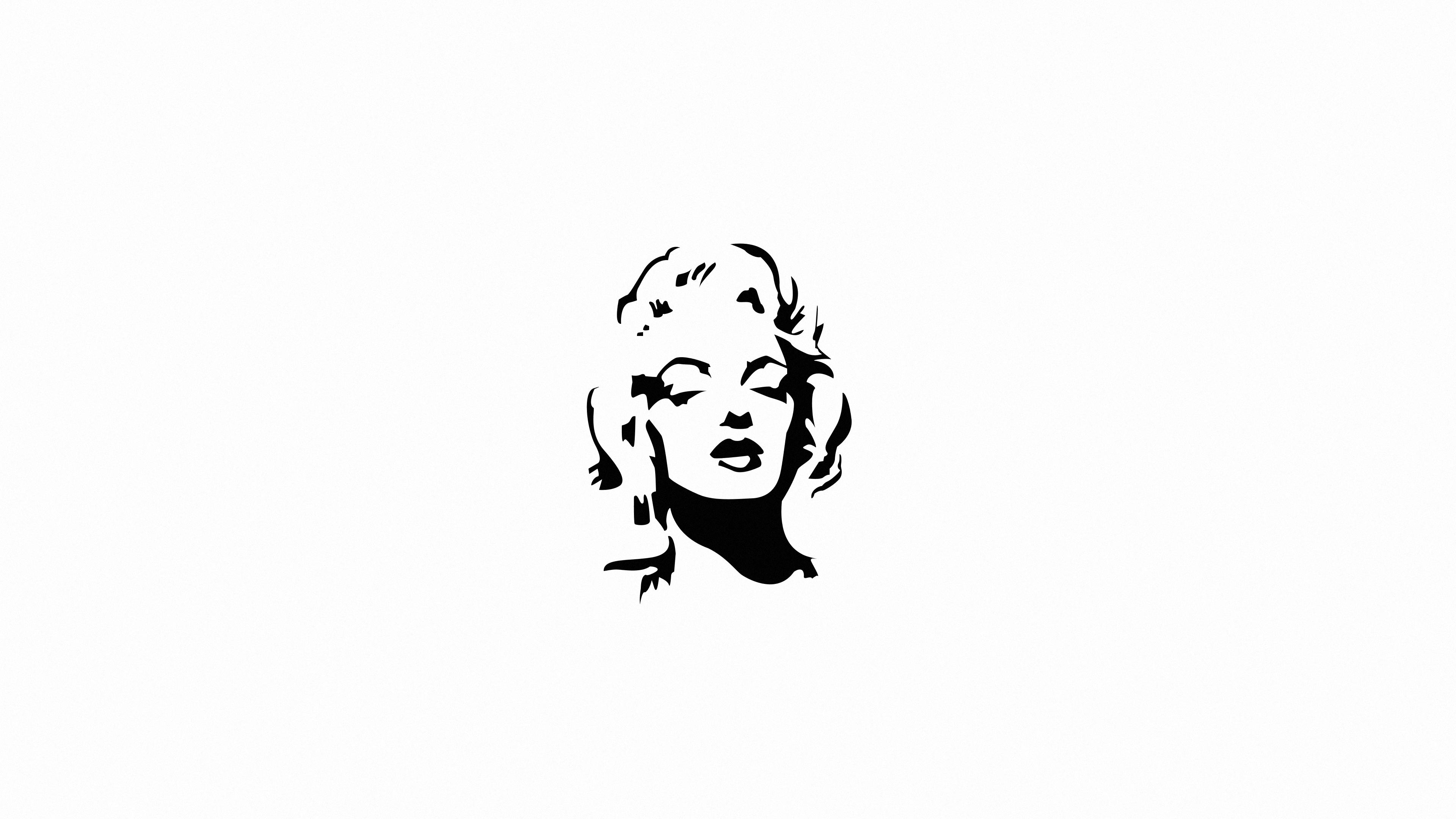 marilyn monroe monochrome minimal 4k 1618131614 - Marilyn Monroe Monochrome Minimal 4k - Marilyn Monroe Monochrome Minimal 4k wallpapers