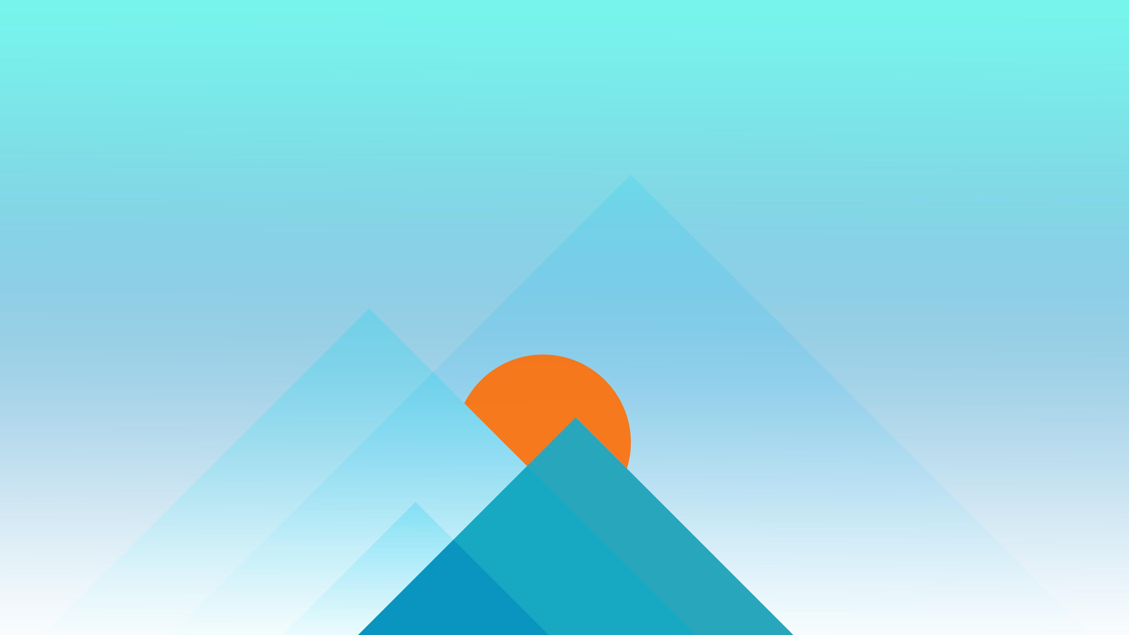 mountains sunrise minimal 4k 1618131998 - Mountains Sunrise Minimal 4k - Mountains Sunrise Minimal 4k wallpapers