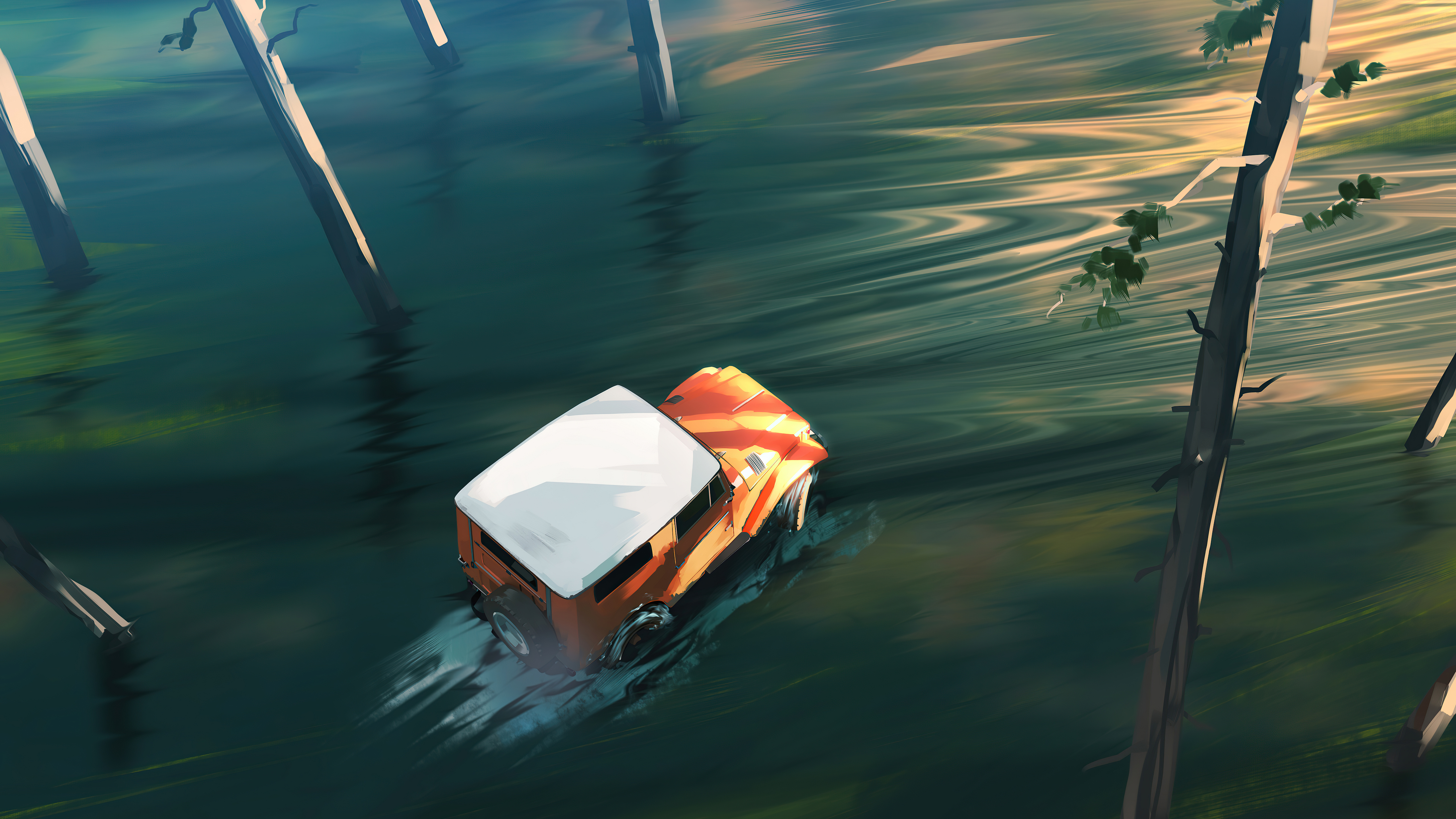 offroading jeep lake 4k 1618130520 - Offroading Jeep Lake 4k - Offroading Jeep Lake 4k wallpapers