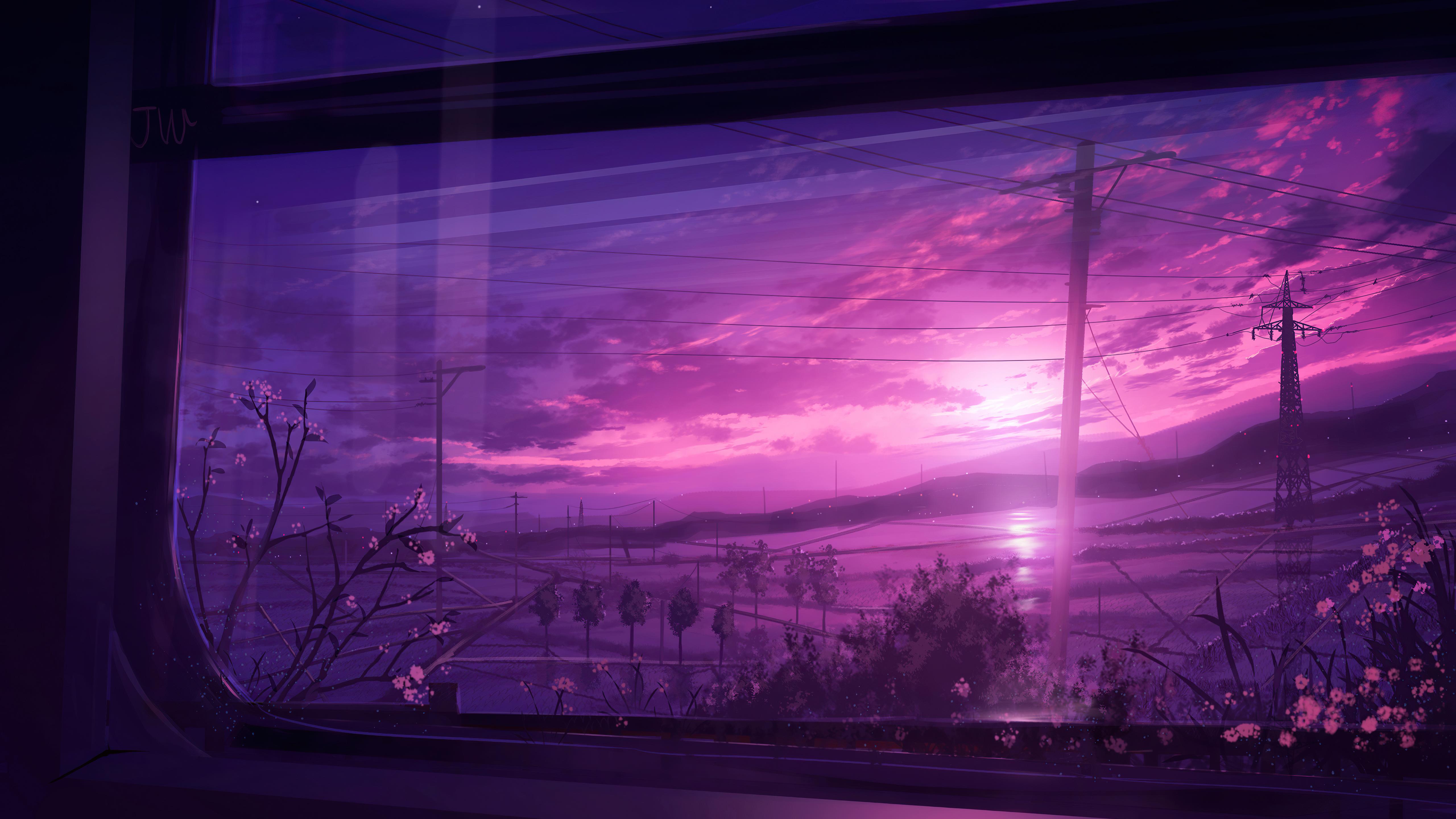 powerline scenery view from window 4k 1618133007 - Powerline Scenery View From Window 4k - Powerline Scenery View From Window 4k wallpapers