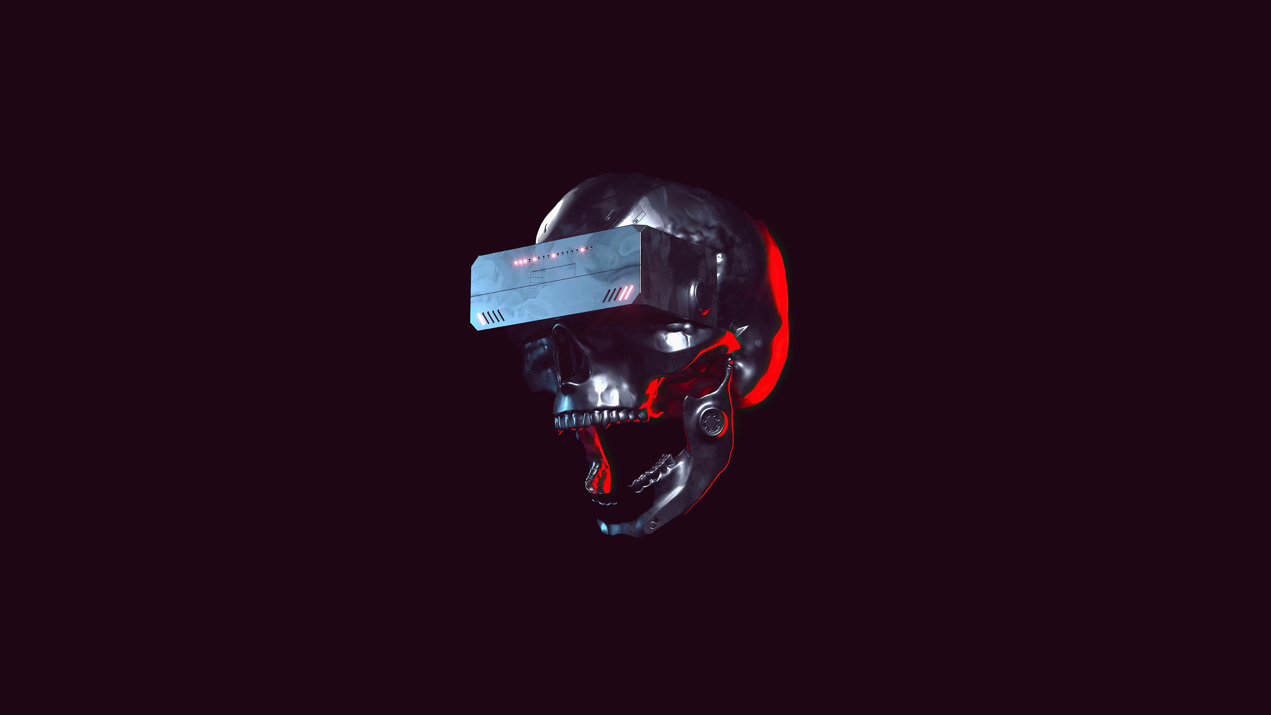 skull scifi future minimal 4k 1618131020 - Skull Scifi Future Minimal 4k - Skull Scifi Future Minimal 4k wallpapers