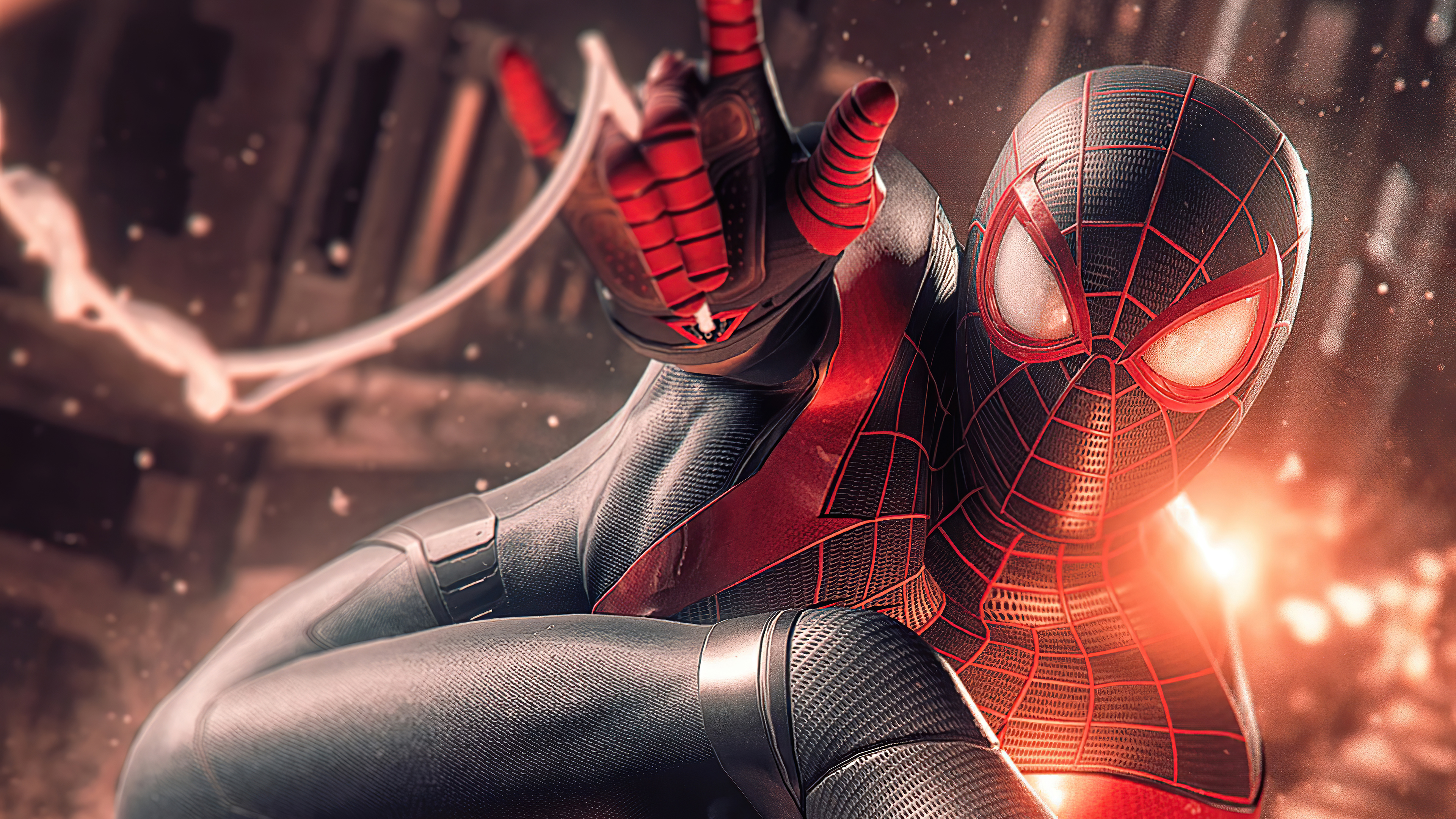 spider man miles morales digital art 4k 1619215238 - Spider Man Miles Morales Digital Art 4k - Spider Man Miles Morales Digital Art 4k wallpapers