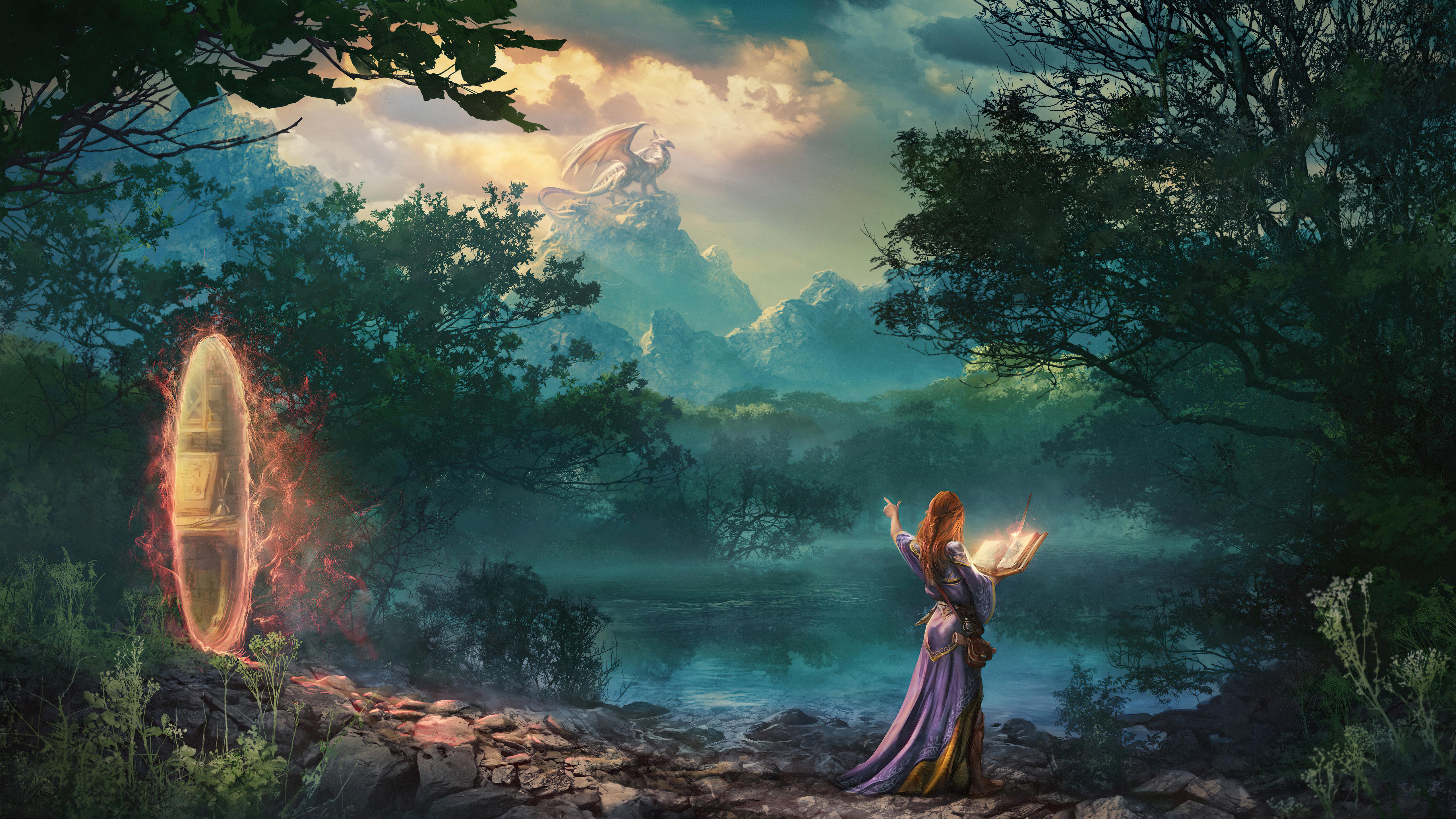the magic brush dragon priest 4k 1618130520 - The Magic Brush Dragon Priest 4k - The Magic Brush Dragon Priest 4k wallpapers