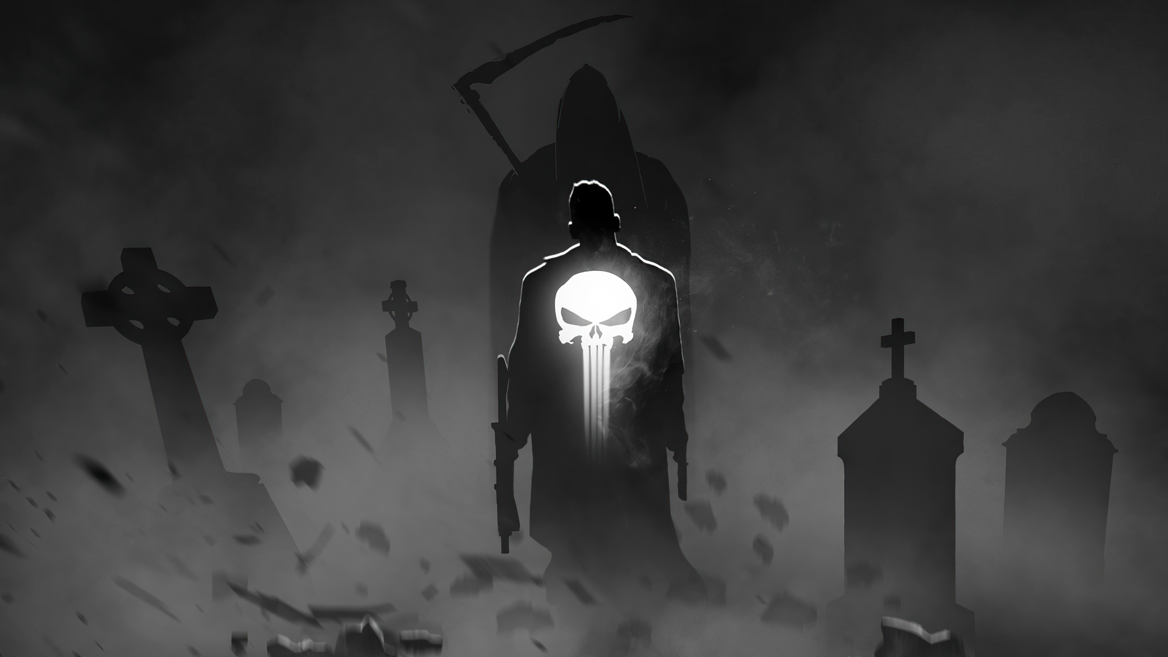 the punisher by bosslogic 4k 1619216467 - The Punisher By Bosslogic 4k - The Punisher By Bosslogic 4k wallpapers
