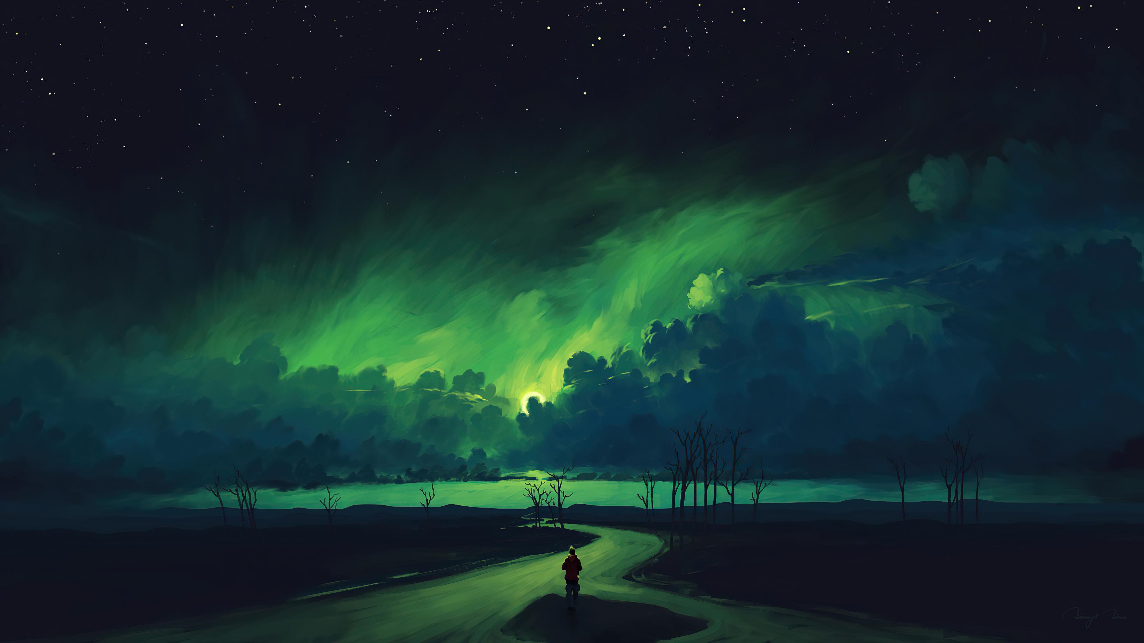 verdant moonlight 4k 1618131020 - Verdant Moonlight 4k - Verdant Moonlight 4k wallpapers