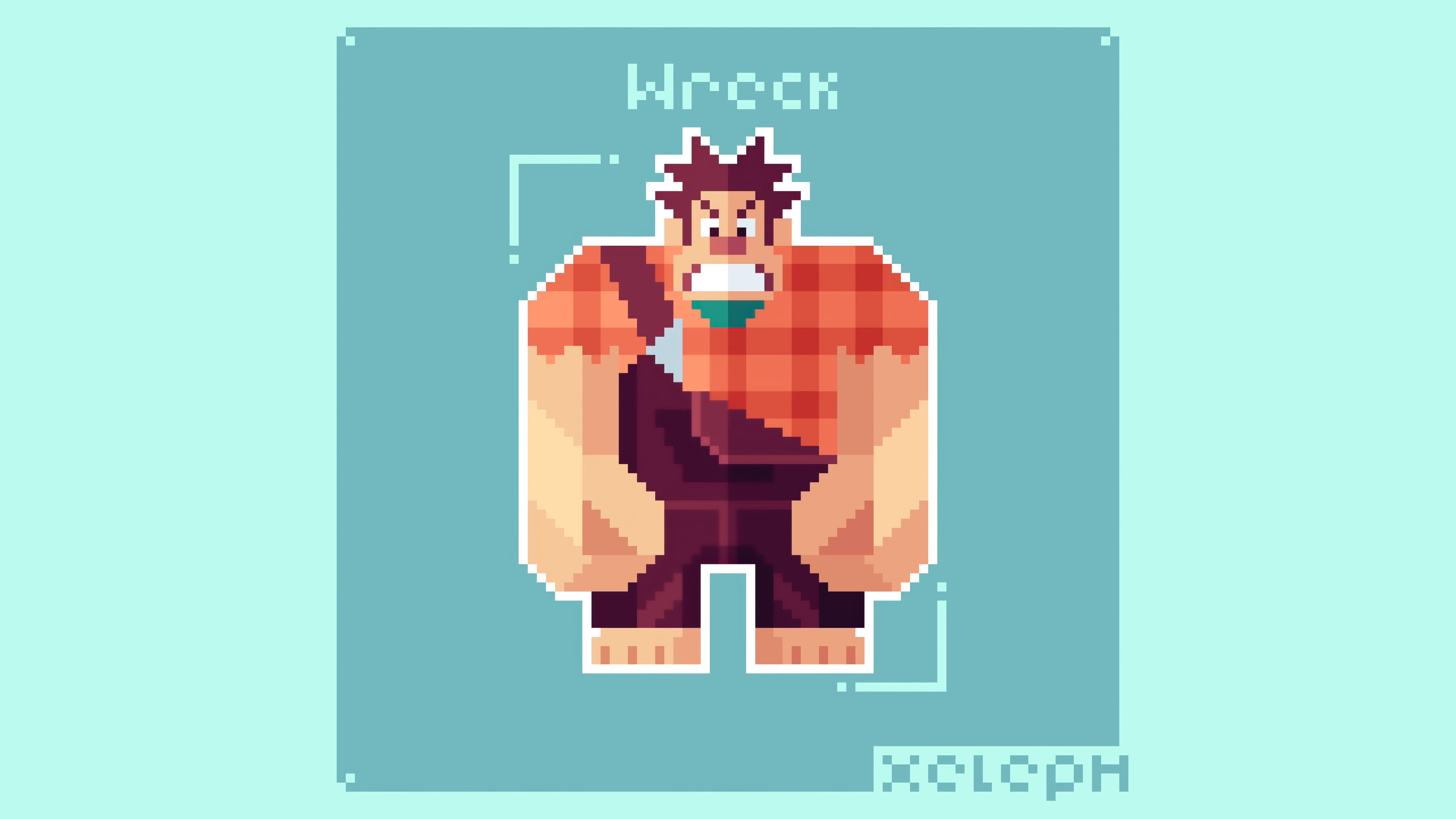 wreck it ralph pixel art 4k 1618166500 - Wreck It Ralph Pixel Art 4k - Wreck It Ralph Pixel Art 4k wallpapers