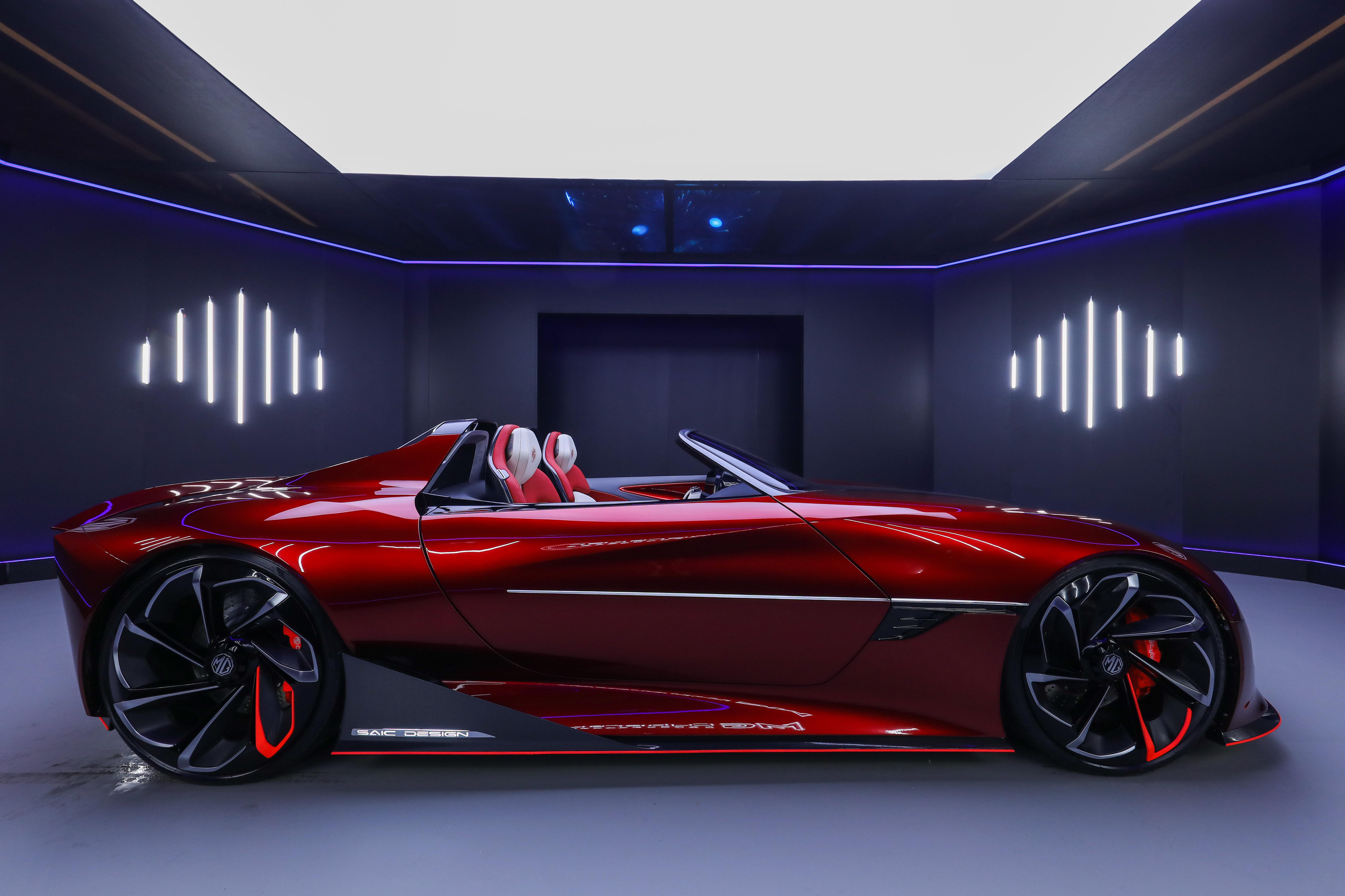 2021 mg cyberster concept 4k 1620170764 - 2021 MG Cyberster Concept 4k - 2021 MG Cyberster Concept 4k wallpapers