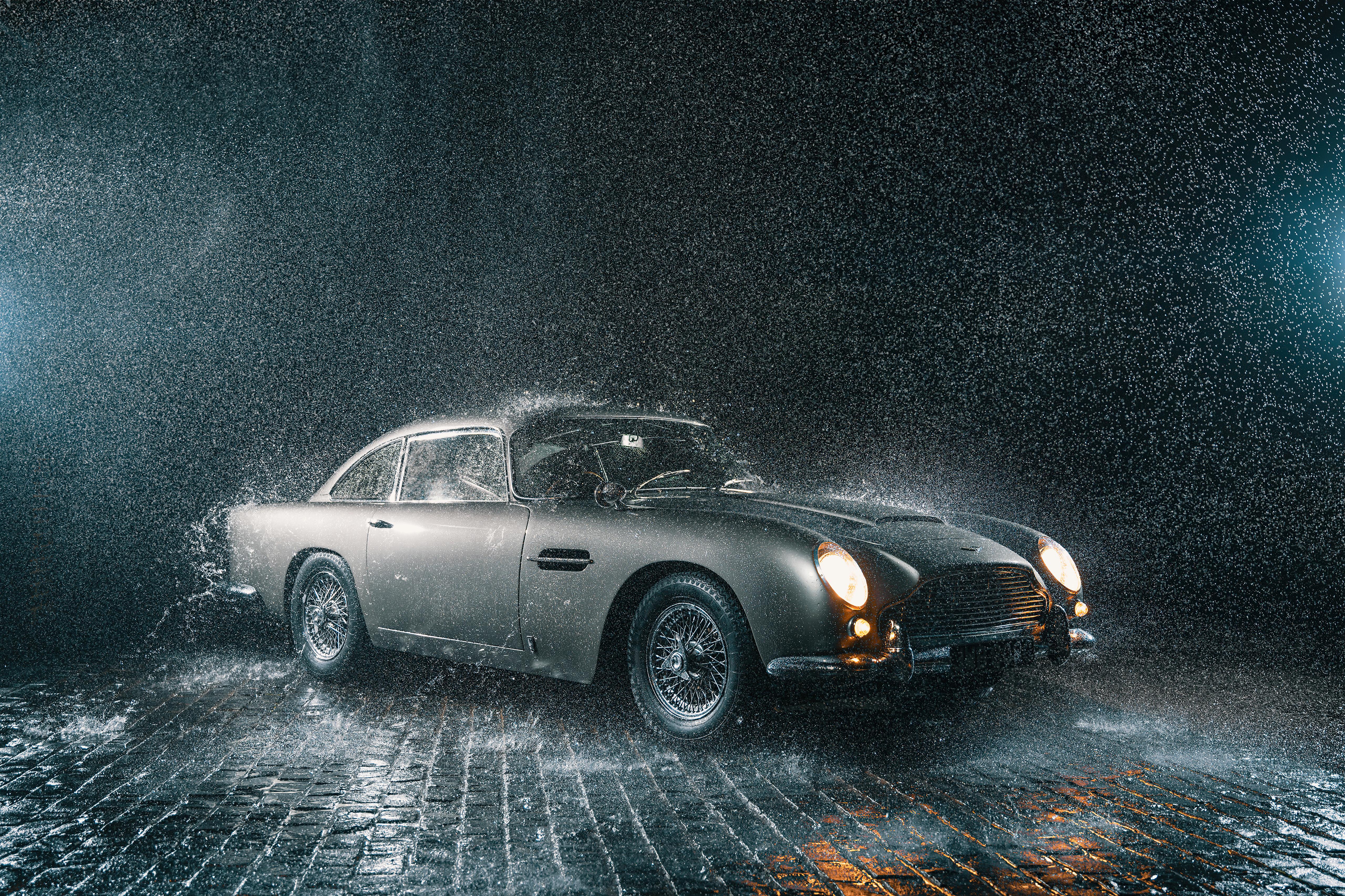 aston martin db5 in rain 4k 1620170989 - Aston Martin Db5 In Rain 4k - Aston Martin Db5 In Rain 4k wallpapers