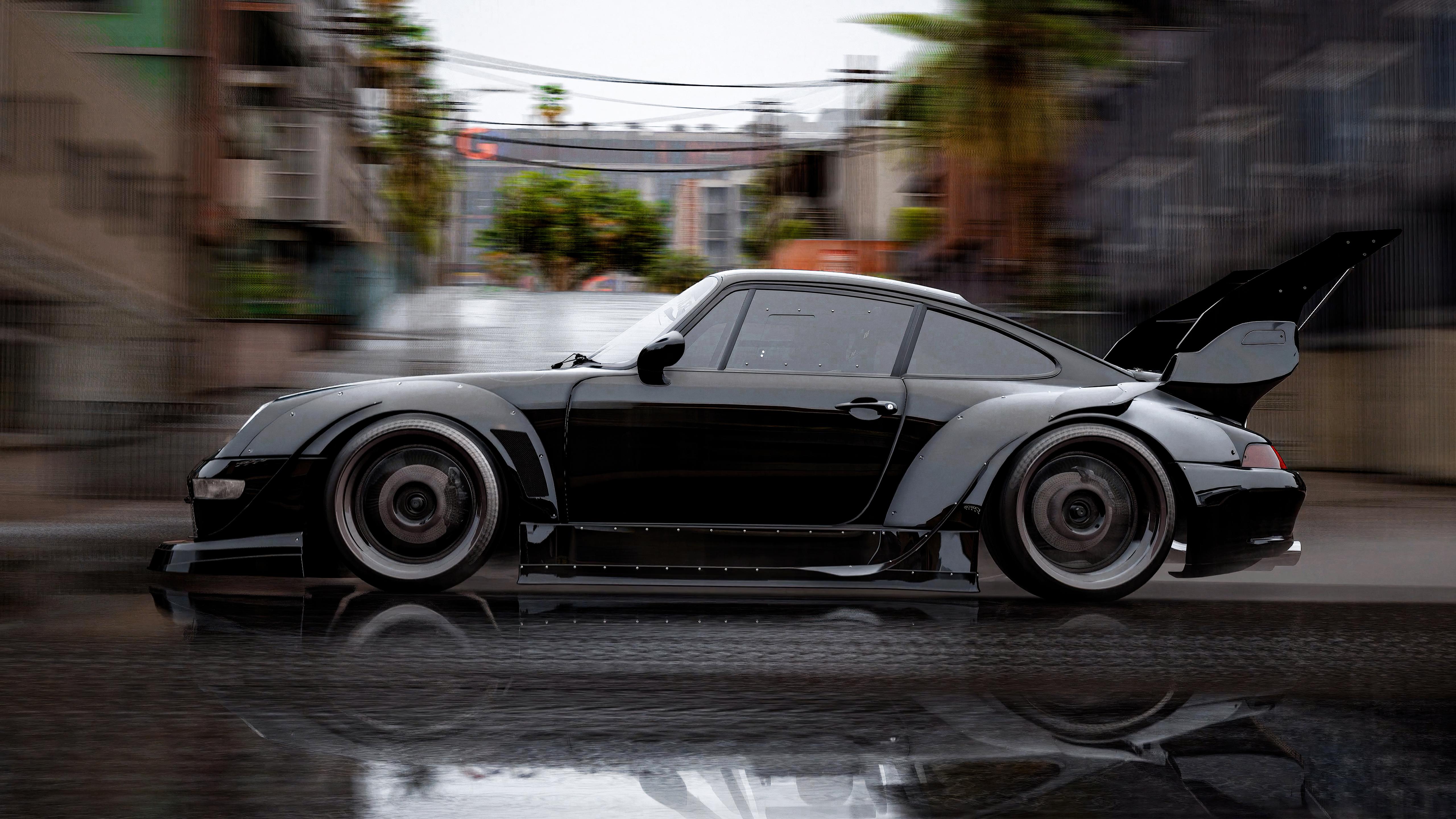 black porsche rain motion 4k 1620169614 - Black Porsche Rain Motion 4k - Black Porsche Rain Motion 4k wallpapers