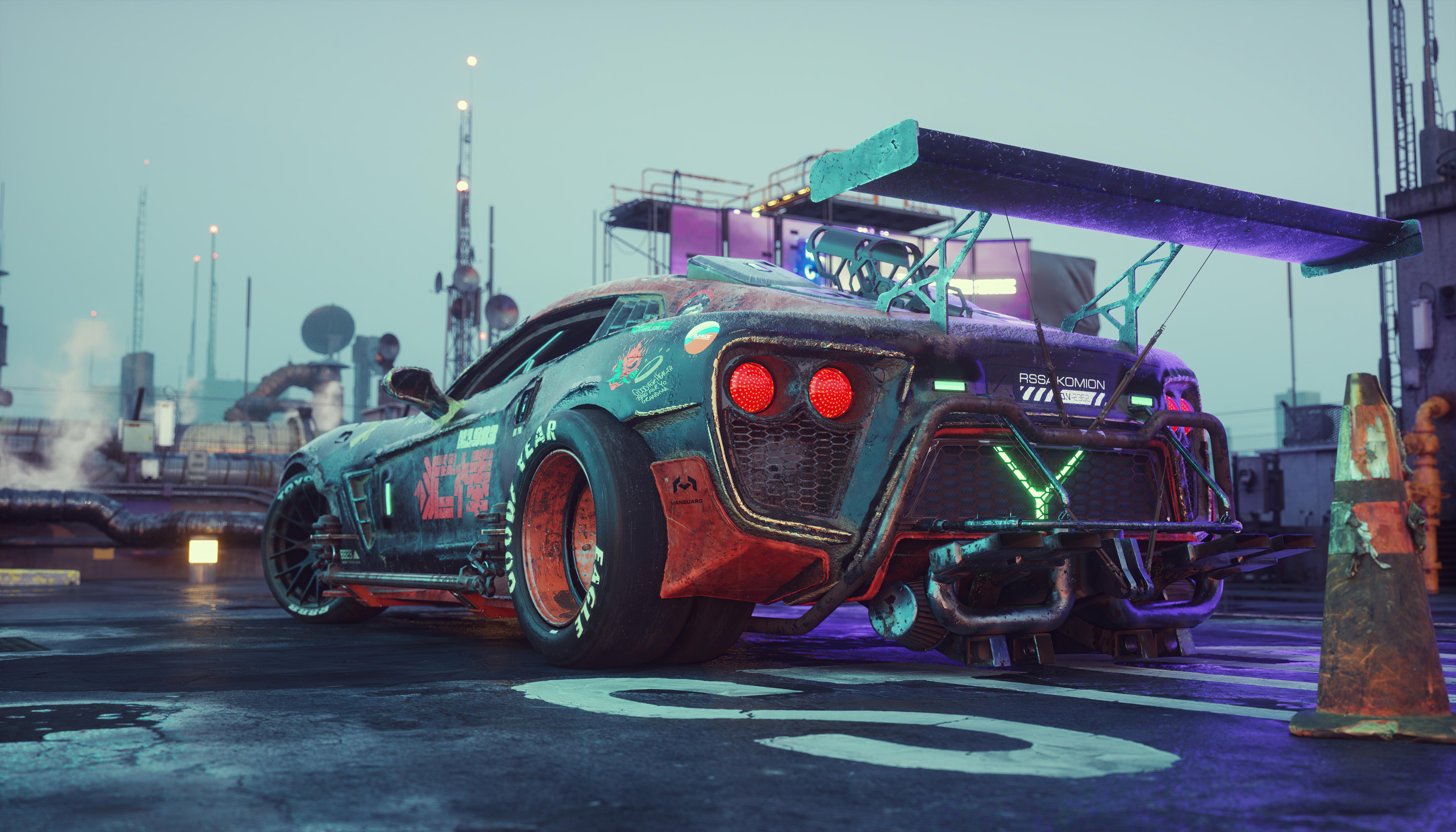 cyberpunkish flanker f concept car 4k 1620170556 1 - Cyberpunkish Flanker F Concept Car 4k - Cyberpunkish Flanker F Concept Car 4k wallpapers