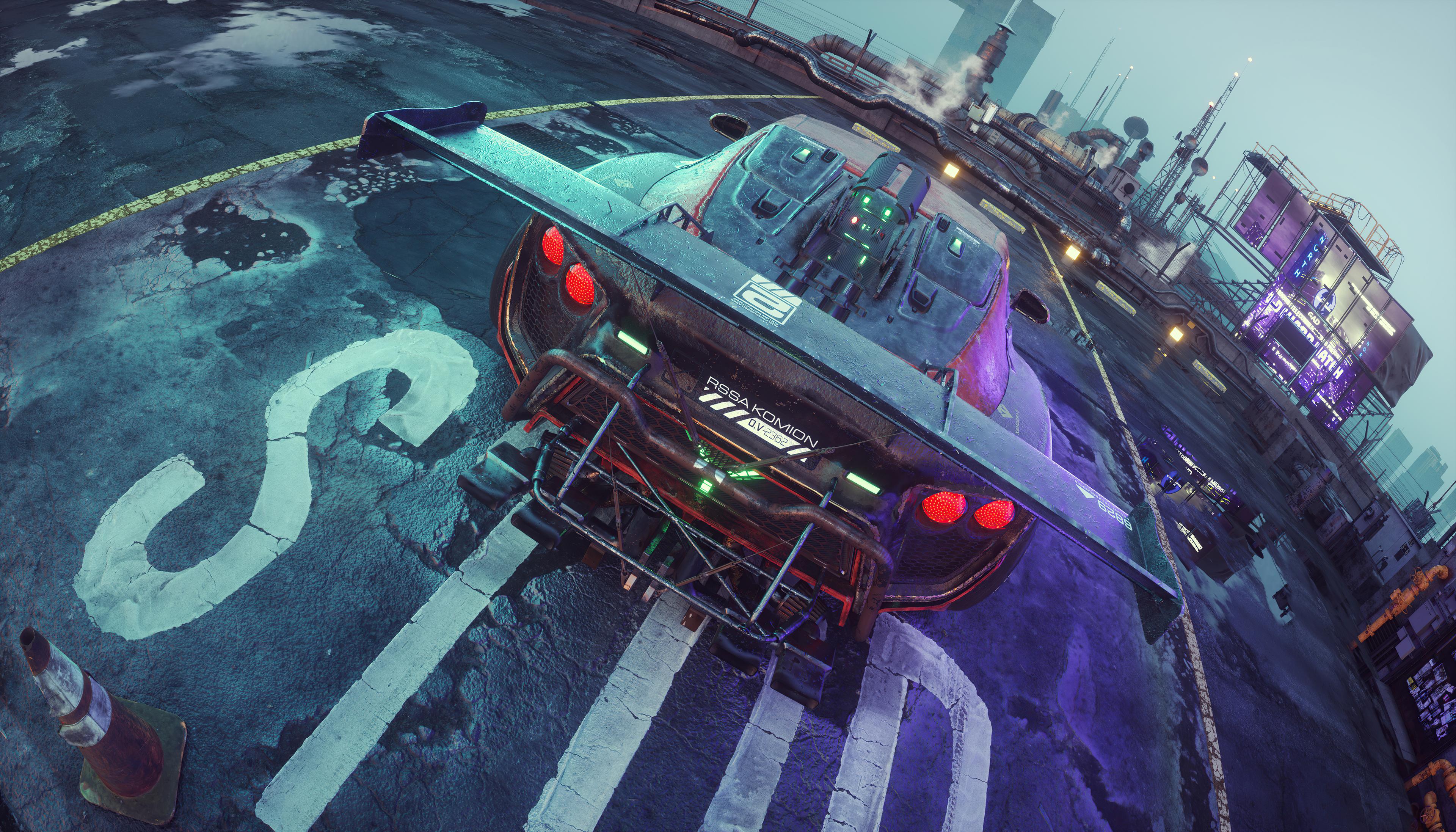 cyberpunkish flanker f concept car 4k 1620170556 - Cyberpunkish Flanker F Concept Car 4k - Cyberpunkish Flanker F Concept Car 4k wallpapers