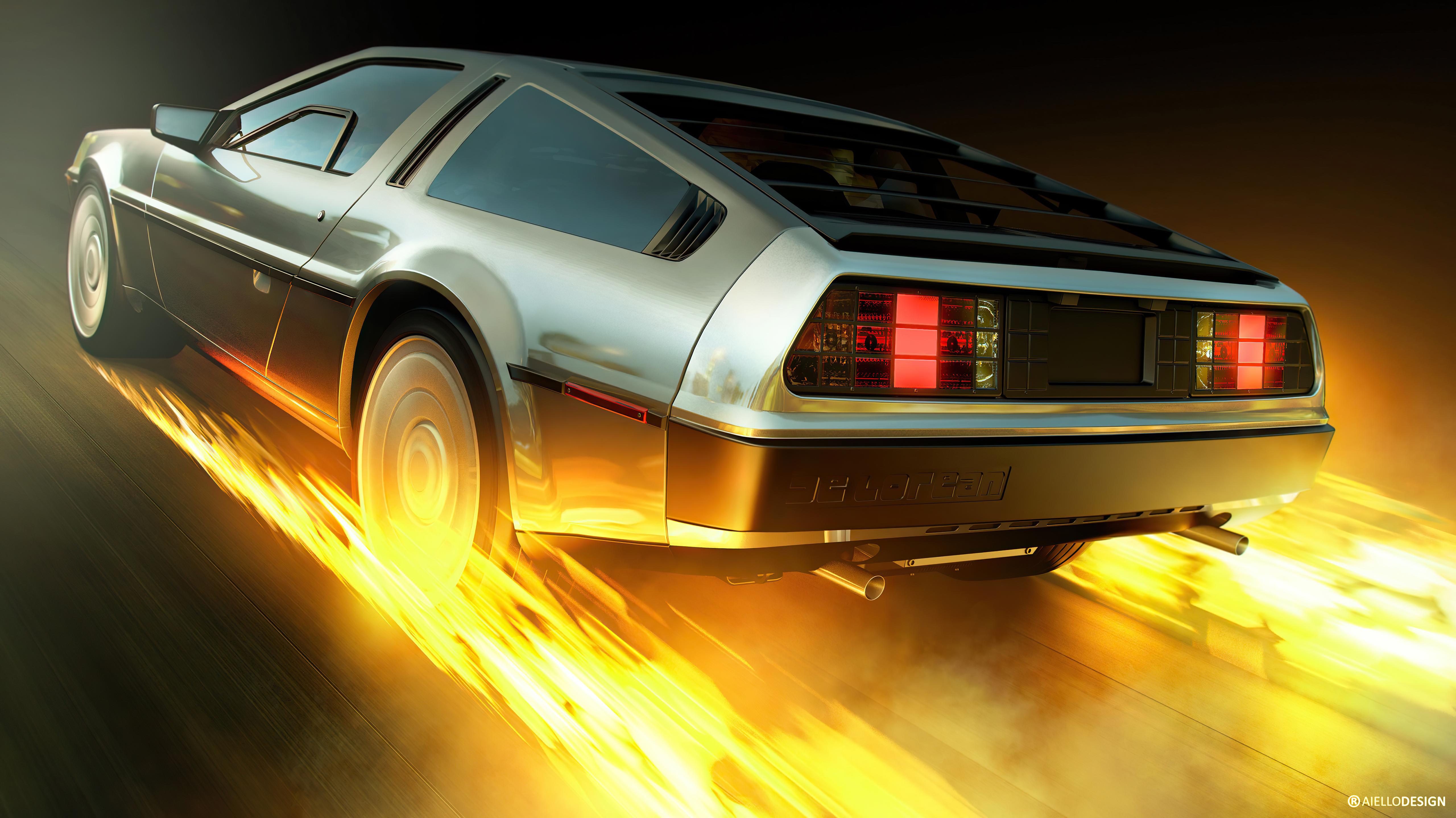 delorean burning wheels 4k 1620171763 - Delorean Burning Wheels 4k - Delorean Burning Wheels 4k wallpapers