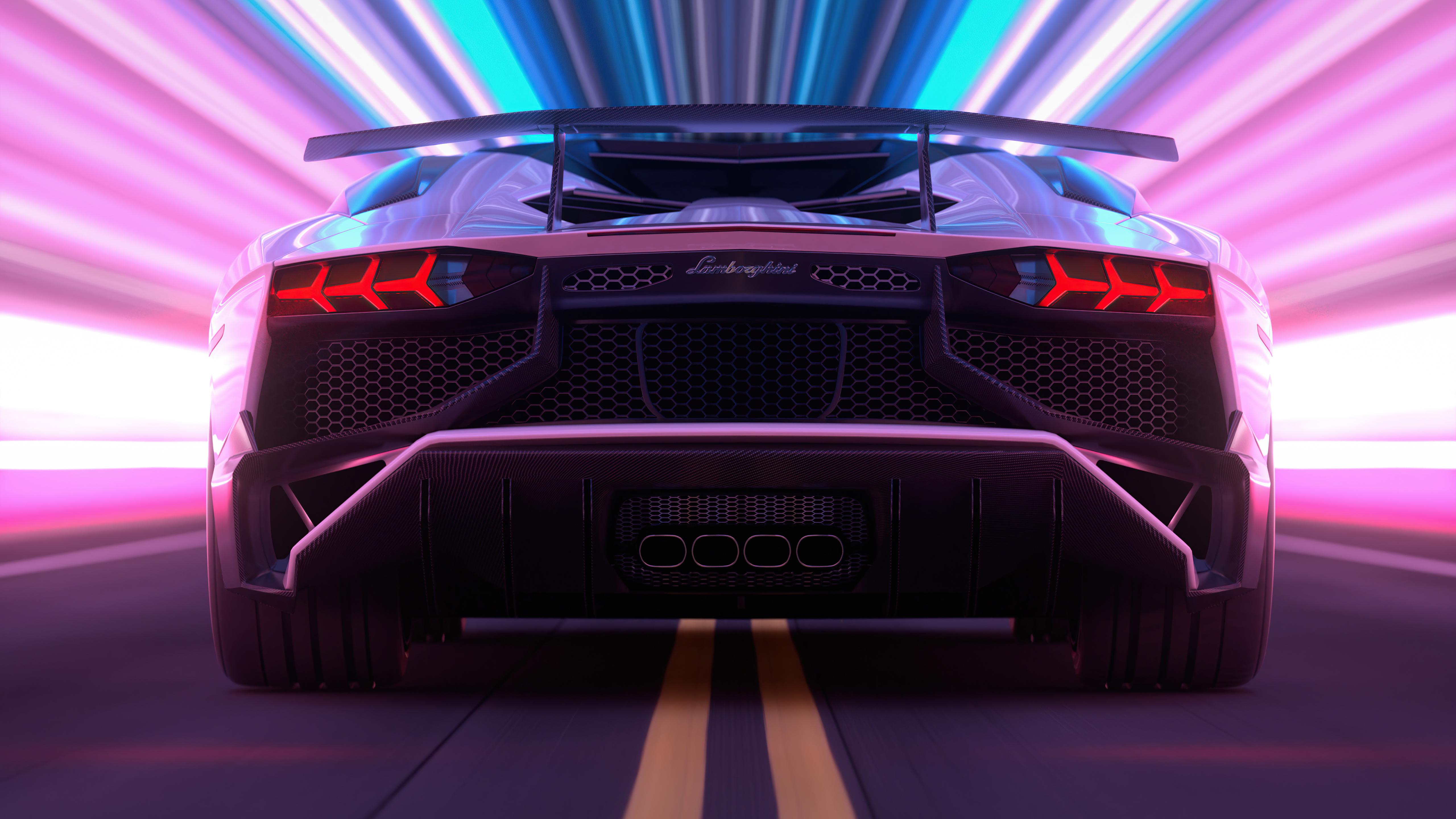 lamborghini aventador retro 4k 1620167218 - Lamborghini Aventador Retro 4k - Lamborghini Aventador Retro 4k wallpapers