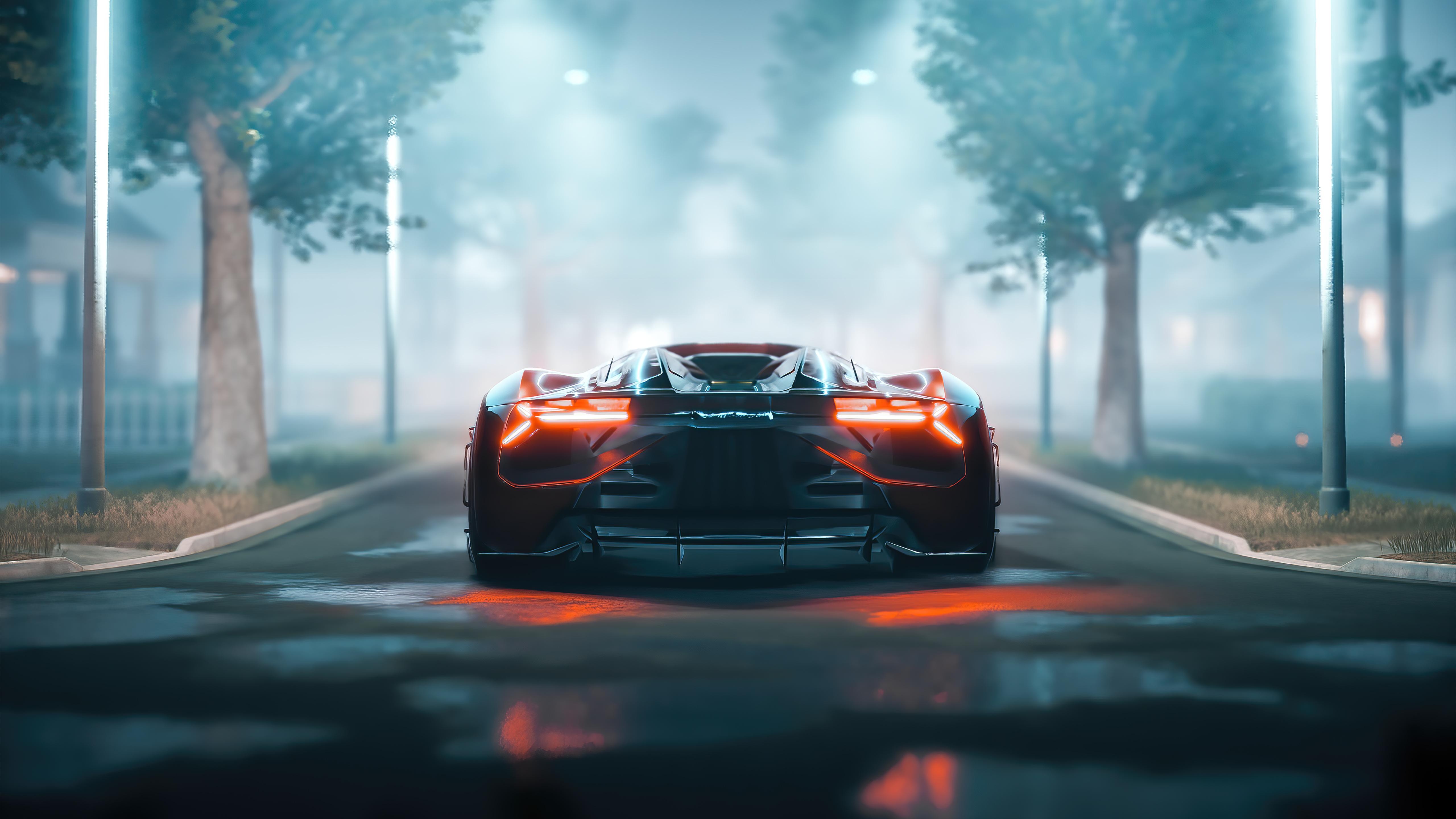 lamborghini terzo millennio rear 4k 1626180010 - Lamborghini Terzo Millennio Rear 4k - Lamborghini Terzo Millennio Rear 4k wallpapers