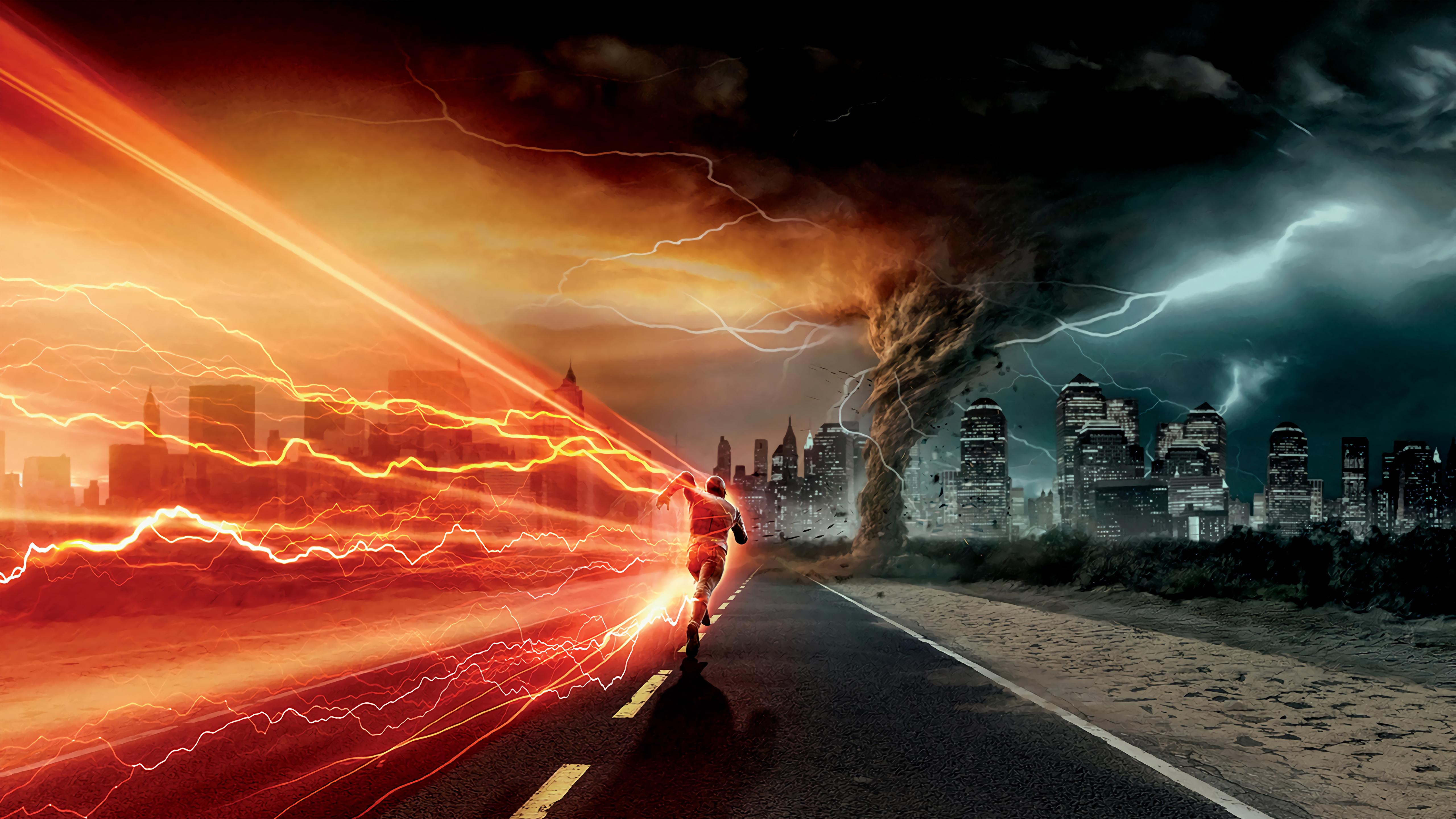 the flash run 4k 1627769779 - The Flash Run 4k - The Flash Run 4k wallpapers