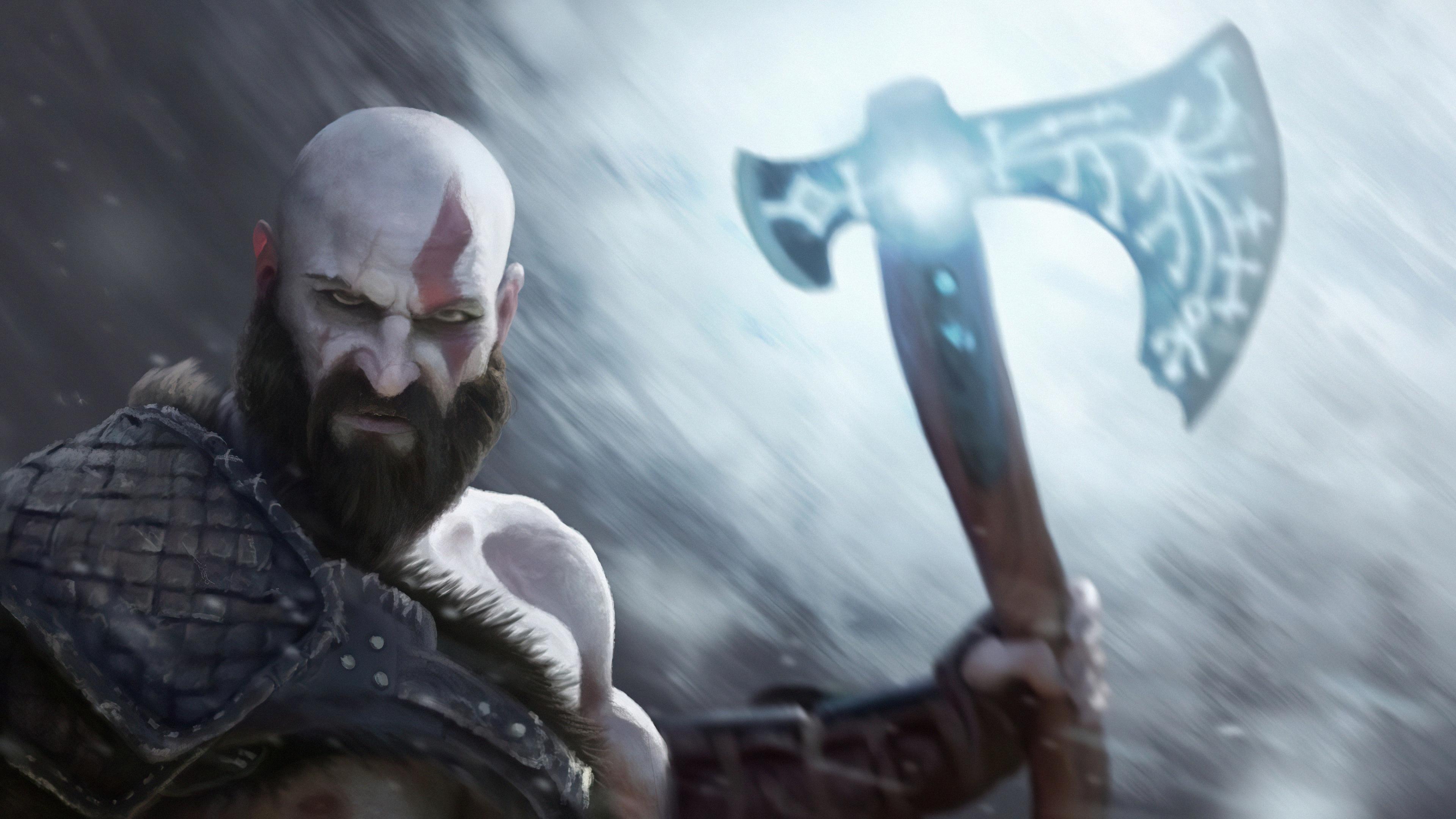 kratos digital paint art 4k 1628453678 - Kratos Digital Paint Art 4k - Kratos Digital Paint Art 4k wallpapers