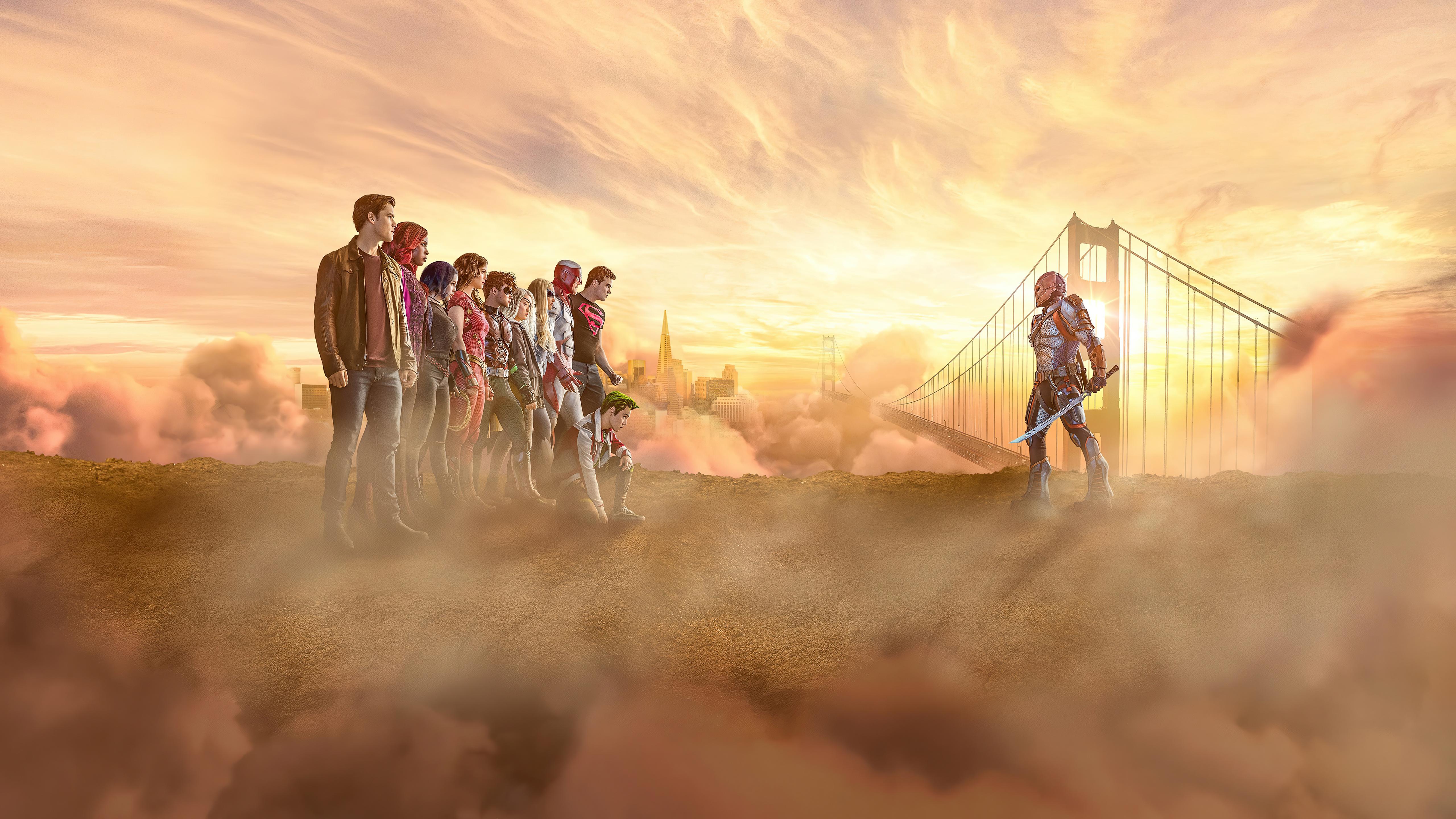 titans season 3 cast poster 4k 1629771506 - Titans Season 3 Cast Poster 4k - Titans Season 3 Cast Poster wallpapers, Titans Season 3 Cast Poster 4k wallpapers