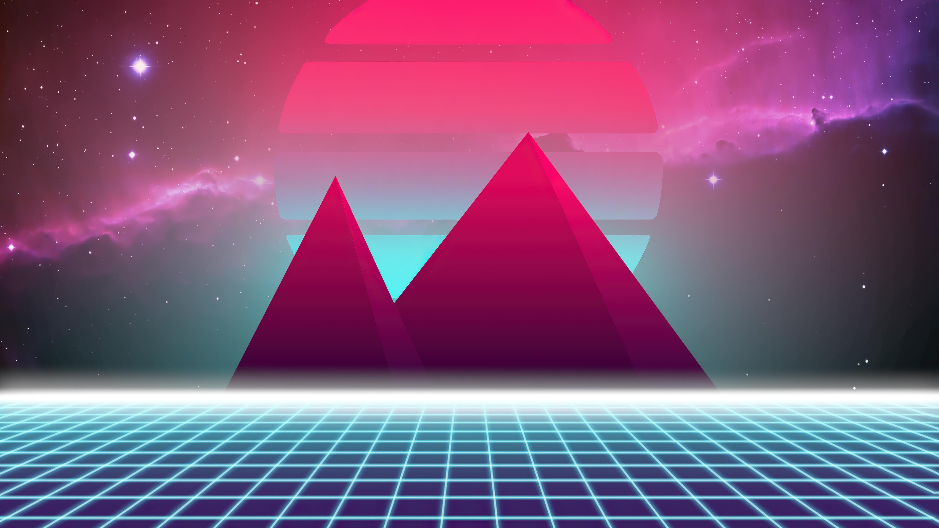 retrowave pyramid in space 4k 1634170967 - Retrowave Pyramid In Space 4k - Retrowave Pyramid In Space wallpapers, Retrowave Pyramid In Space 4k wallpapers